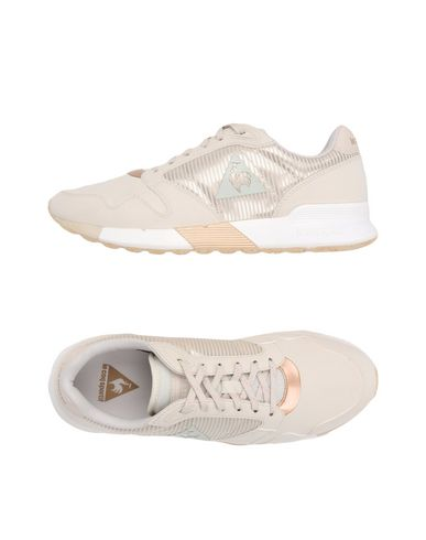 ee2f058ca52 Le Coq Sportif Omega X W Striped Sock Sparkly - Sneakers - Women Le ...