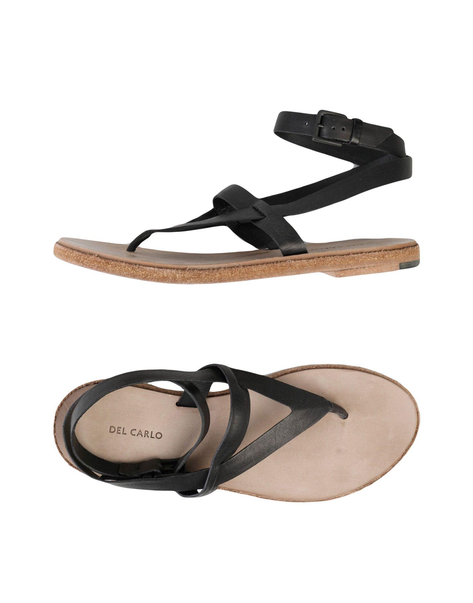 Stilvolle billige Schuhe Del Carlo Dianetten Damen  11369143PB