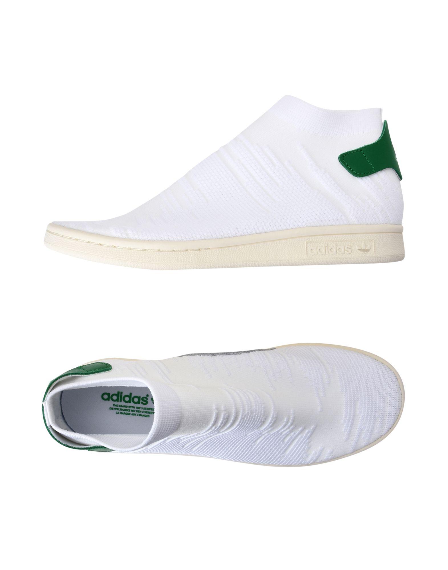 Rabatt echte Schuhe Adidas Originals Stan Smith Sock  11369236PX