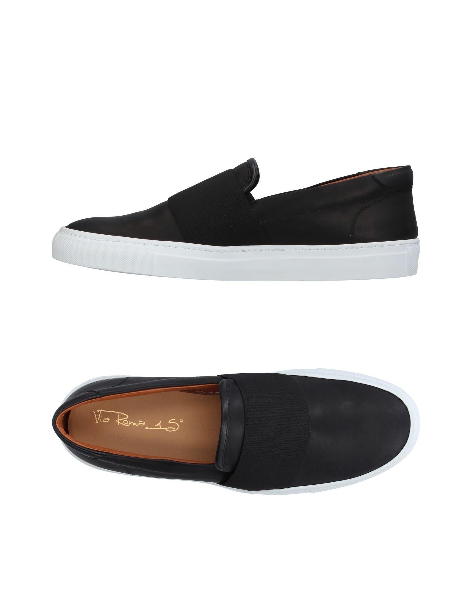 Rabatt echte Schuhe Via Roma 15 Sneakers Herren  11369607AC