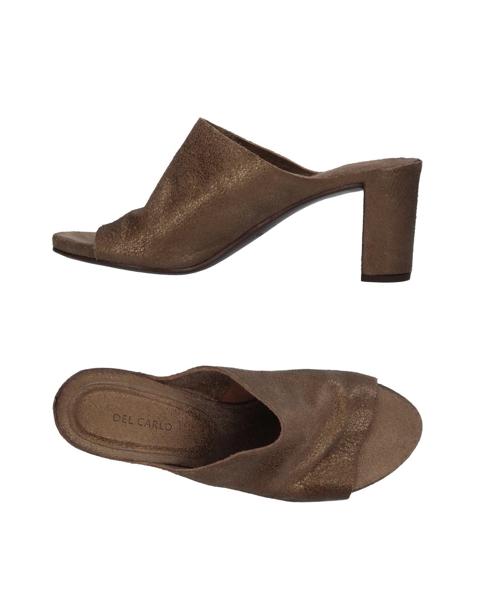 Stilvolle billige Schuhe Del Carlo Sandalen Damen  11369749DN