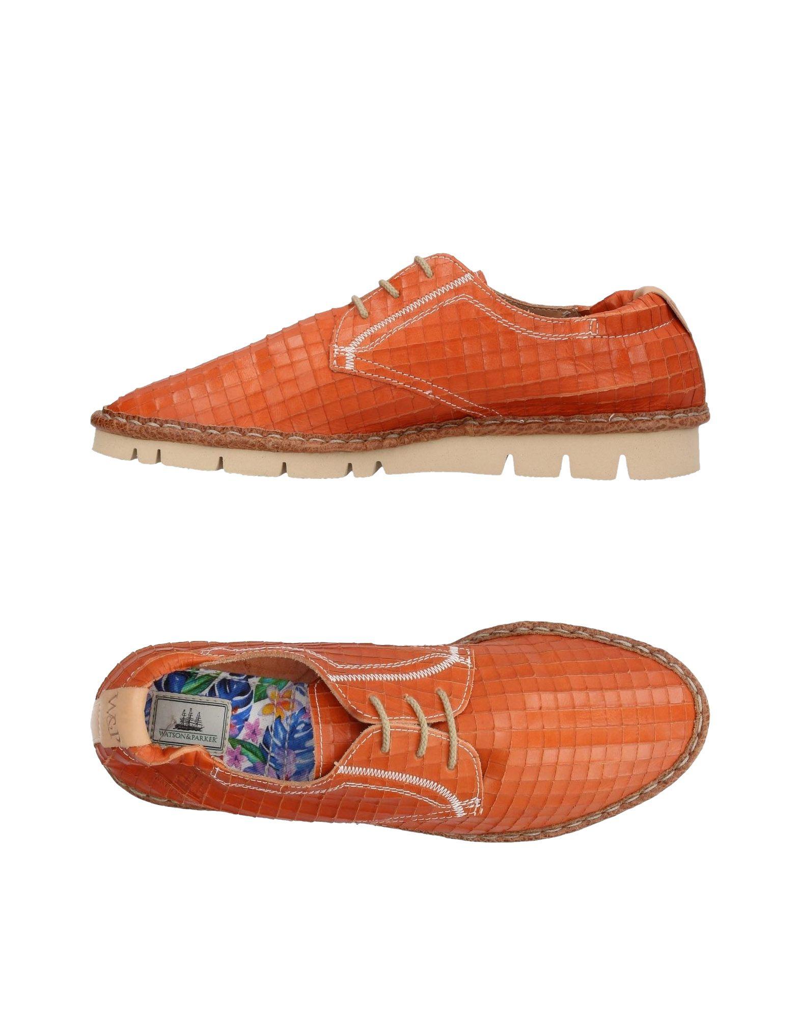 Rabatt echte Schuhe Watson & Parker Schnürschuhe Herren  11369753IE