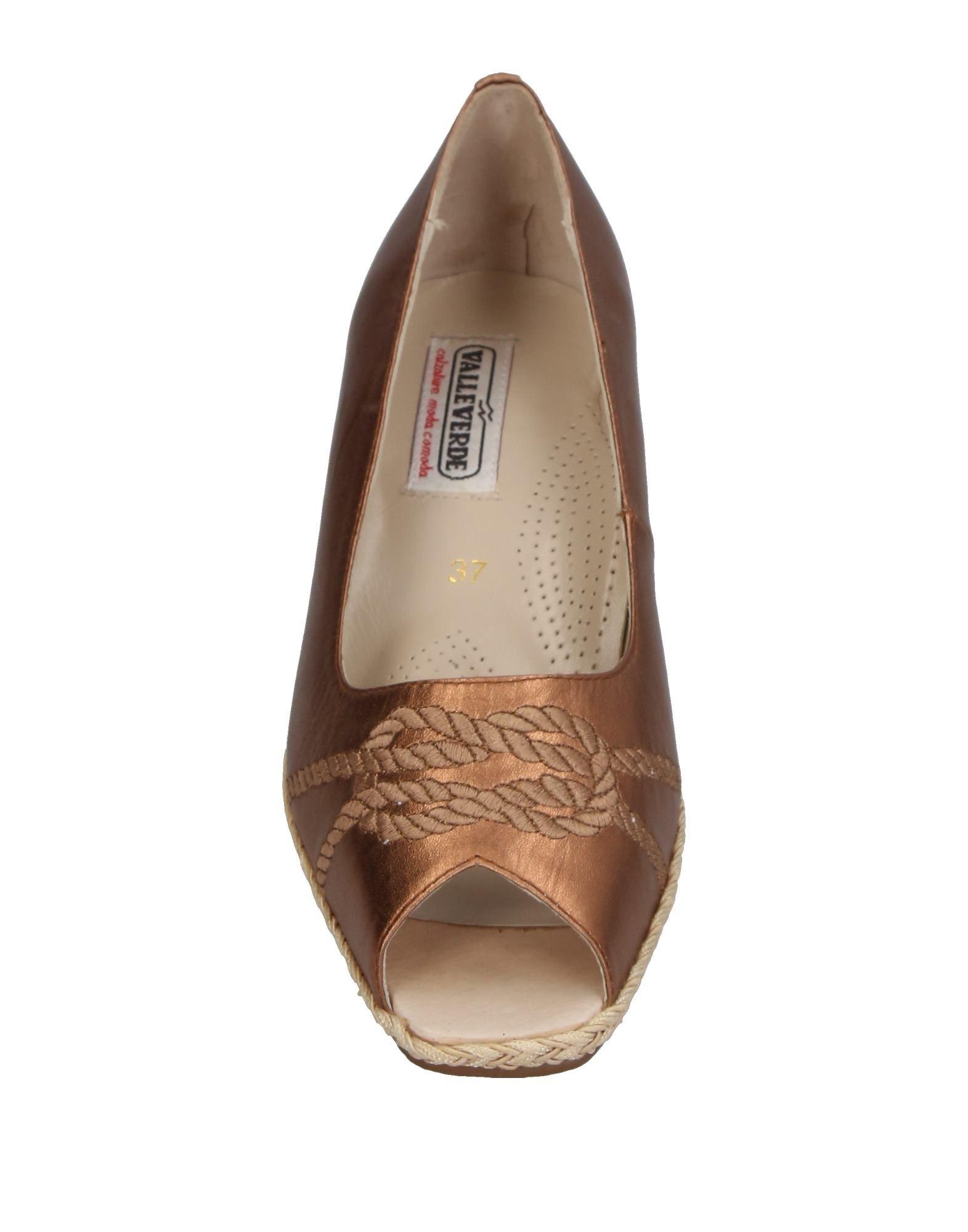 Stilvolle billige Schuhe Valleverde  Pumps Damen  Valleverde 11370227OR 823447