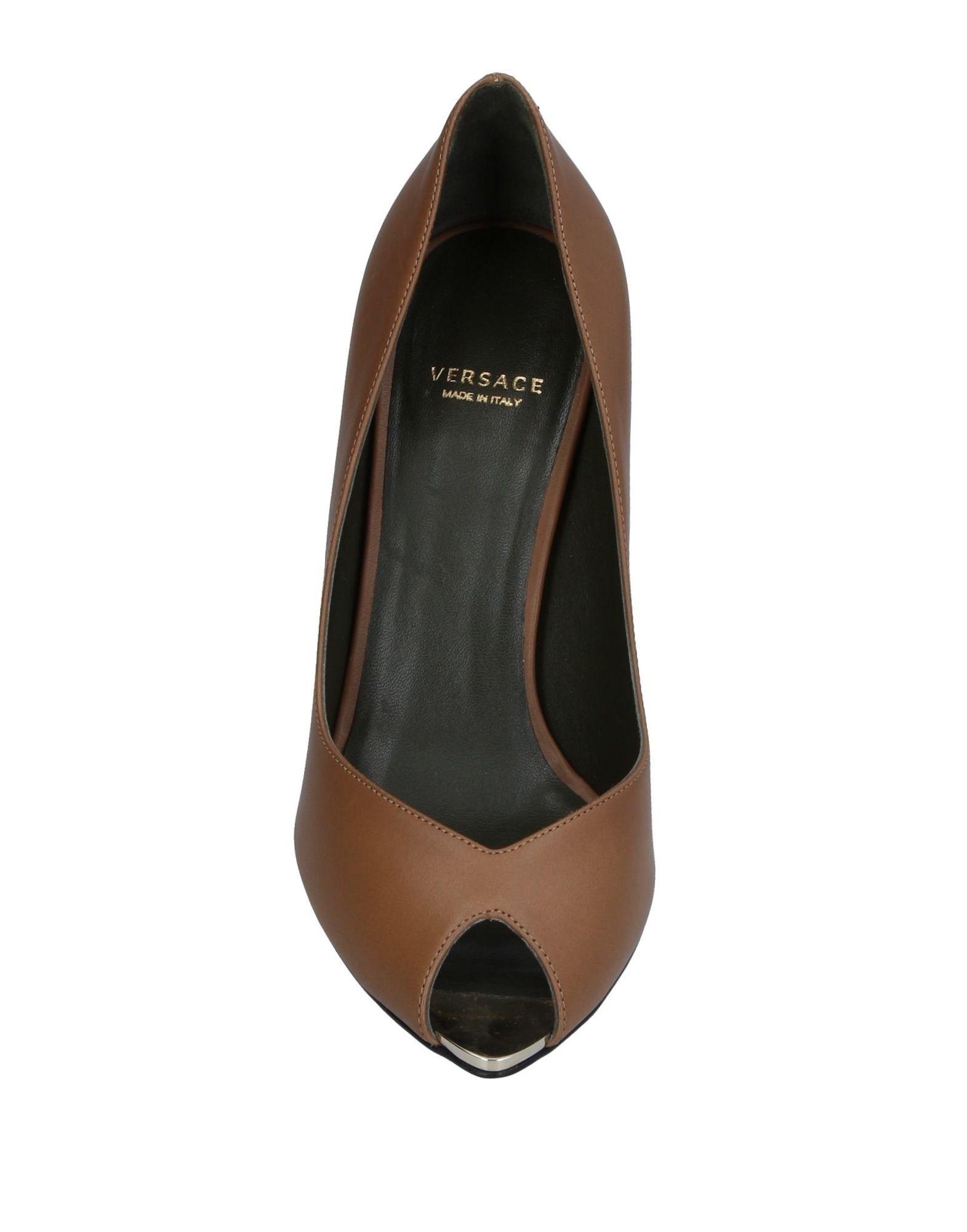 Haltbare Mode billige Schuhe Versace Pumps Damen  11370543ML Heiße Schuhe