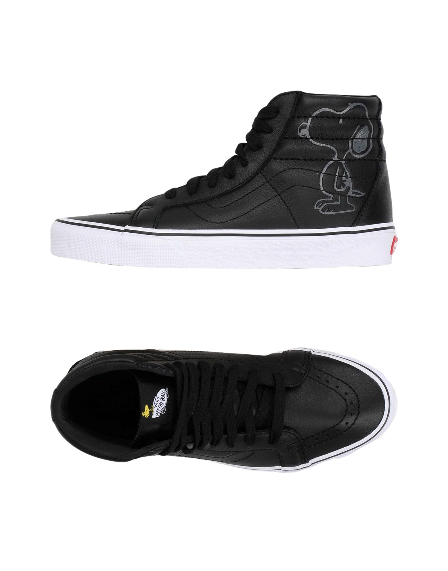 Baskets Vans Ua Sk8-Hi Reissue - Femme - Baskets Vans Noir Chaussures casual sauvages