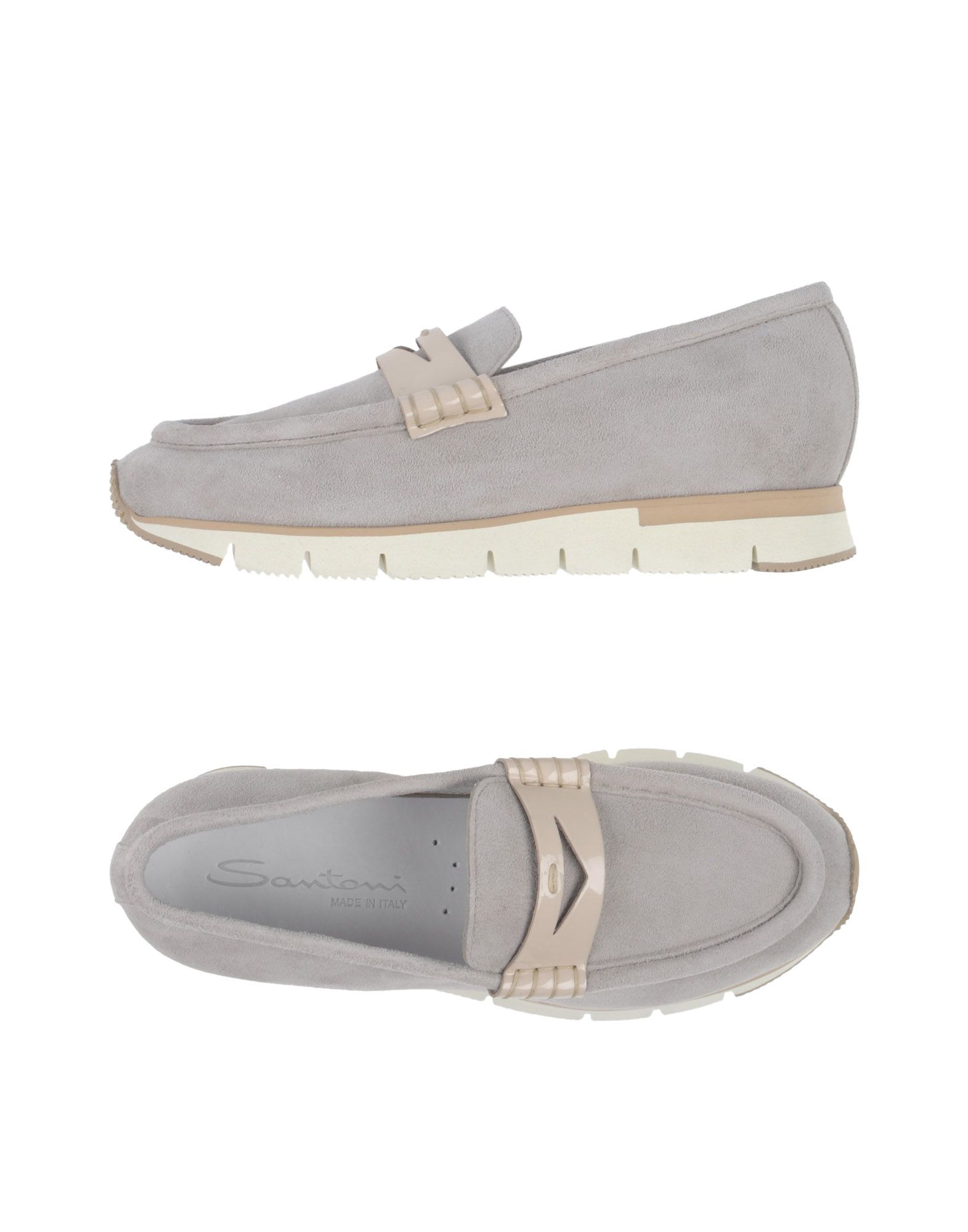 Stilvolle billige Schuhe Santoni Mokassins Damen  11371566MB