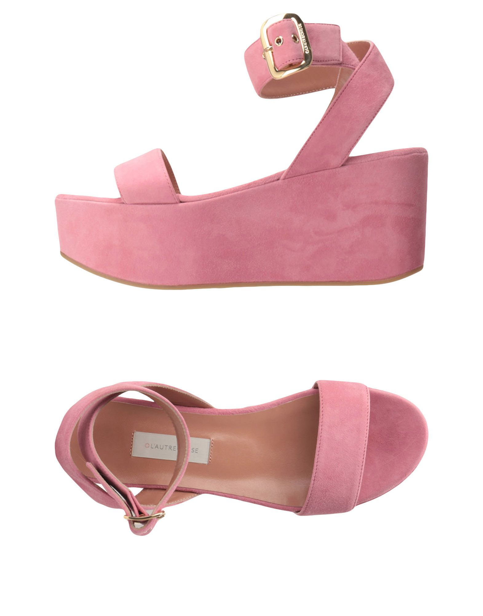 Stilvolle billige Schuhe L' Autre Chose Sandalen Damen  11371633IM
