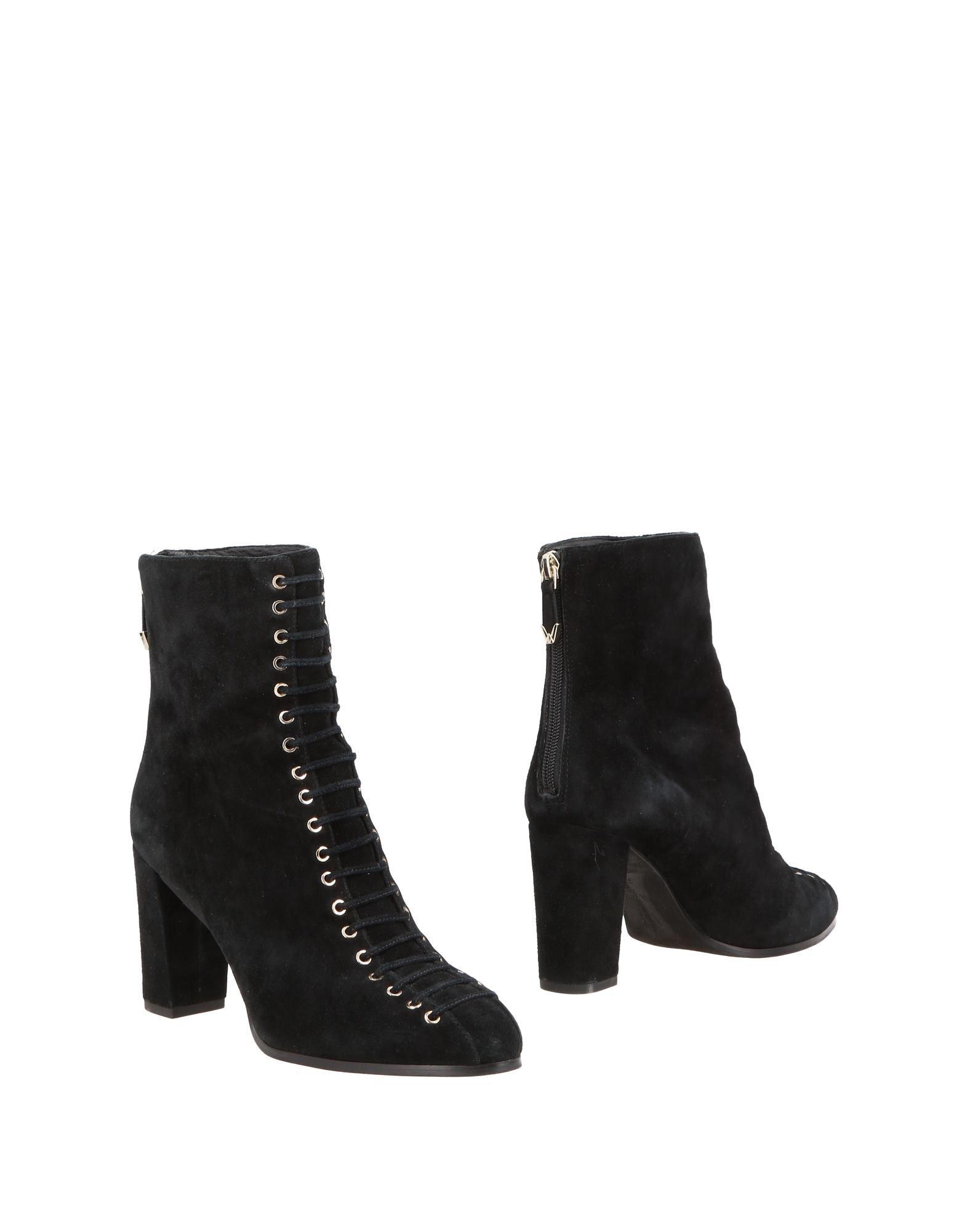Stilvolle billige Schuhe What For Stiefelette Damen 11372118CO
