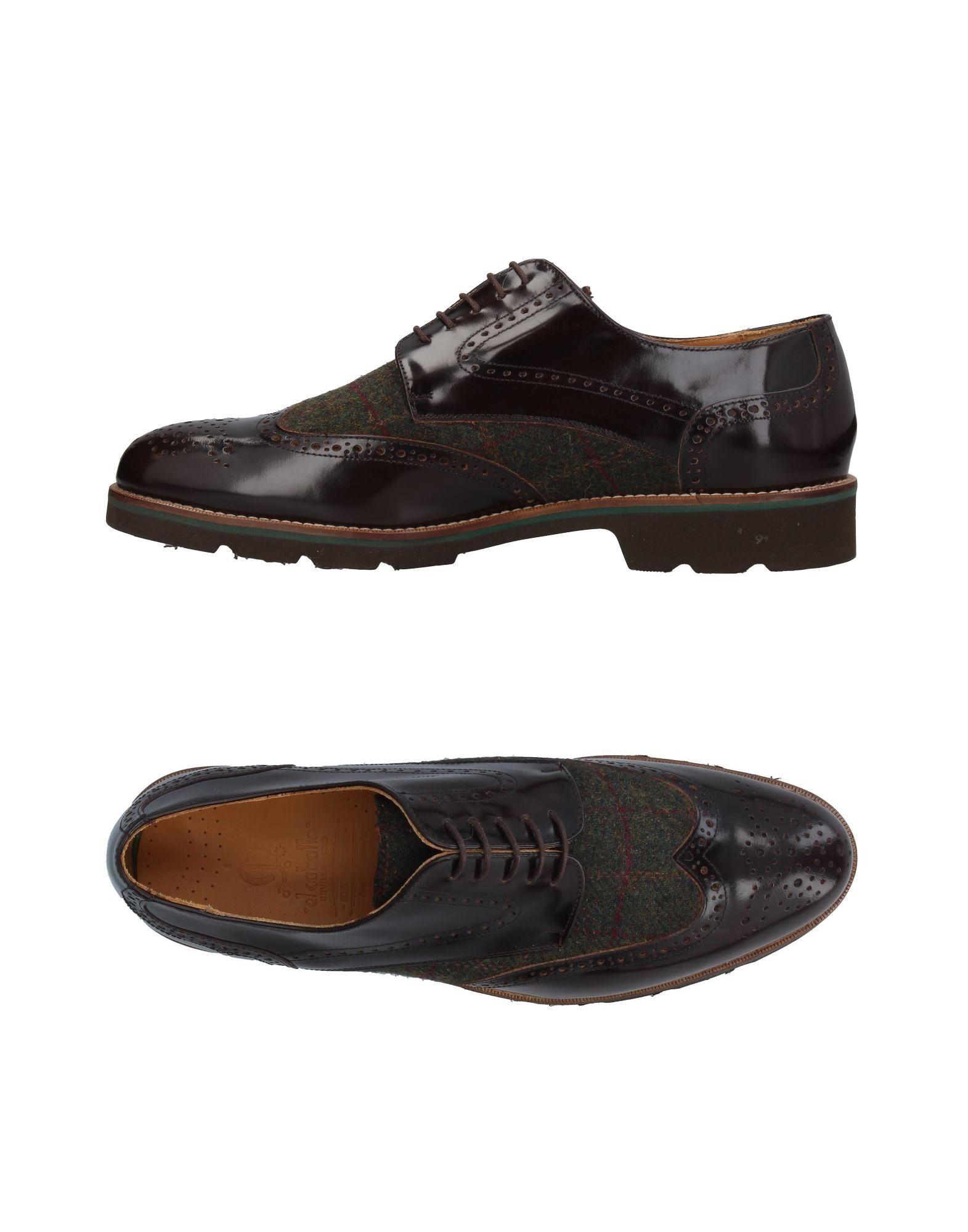 Escompte Combien Magasin De Jeu De Vente Pas Cher CHAUSSURES - Chaussures à lacetsEL CABALLO Vente Pas Cher Livraison Gratuite Paiement De Visa A7TzOJIOP