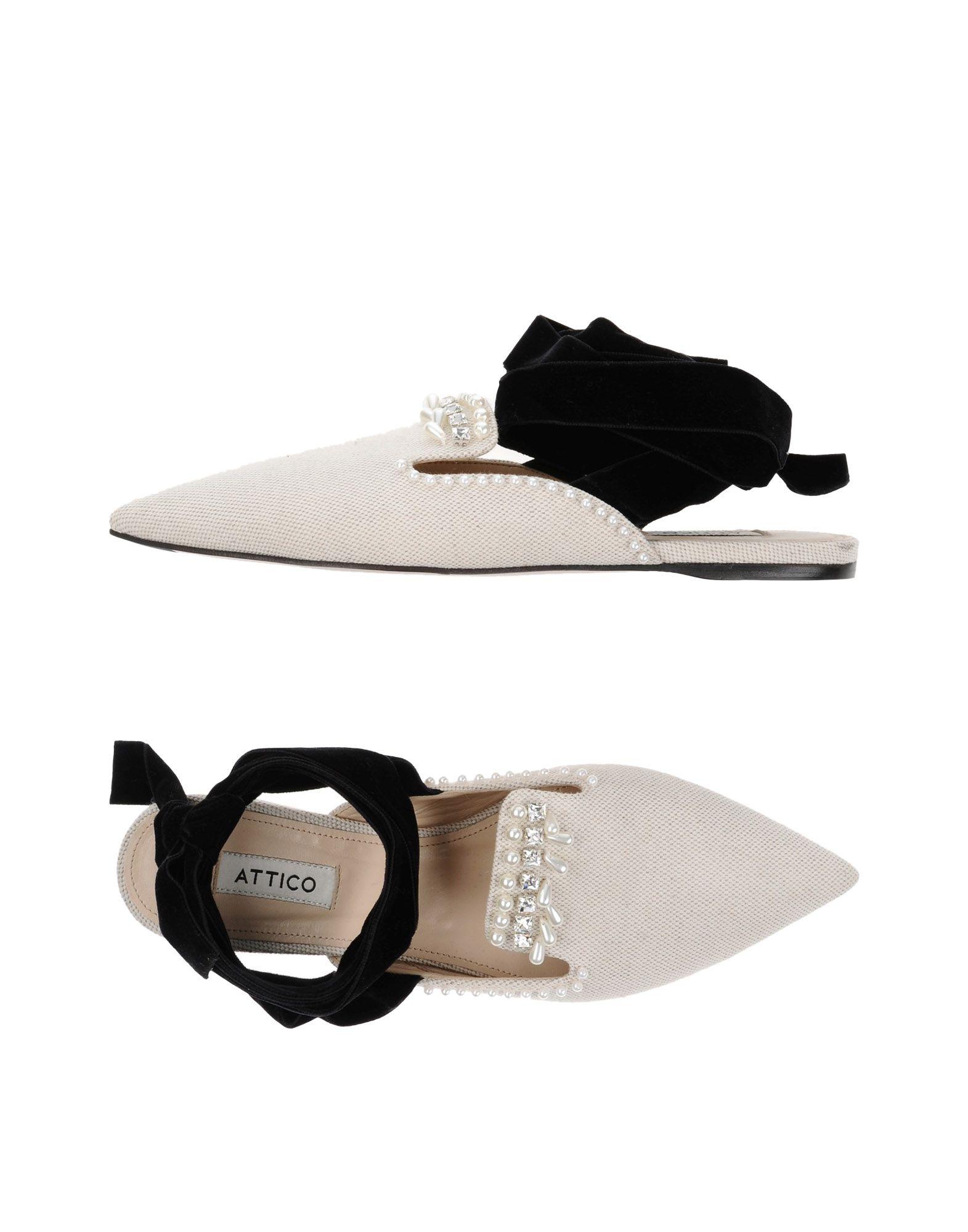 Rabatt Schuhe Attico Sandalen Damen  11372807HE