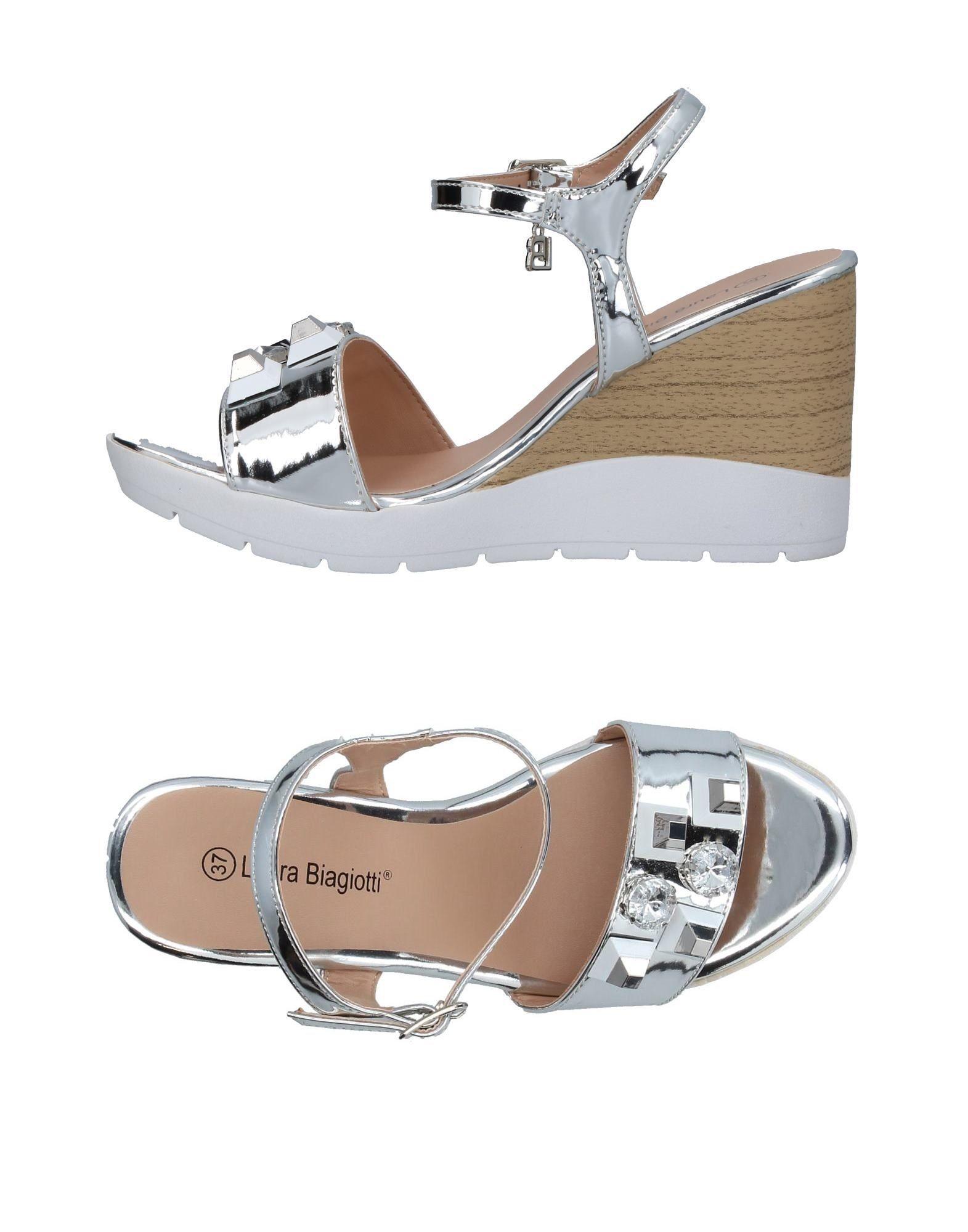 Laura Biagiotti Sandalen Damen  11373533EX Neue Schuhe