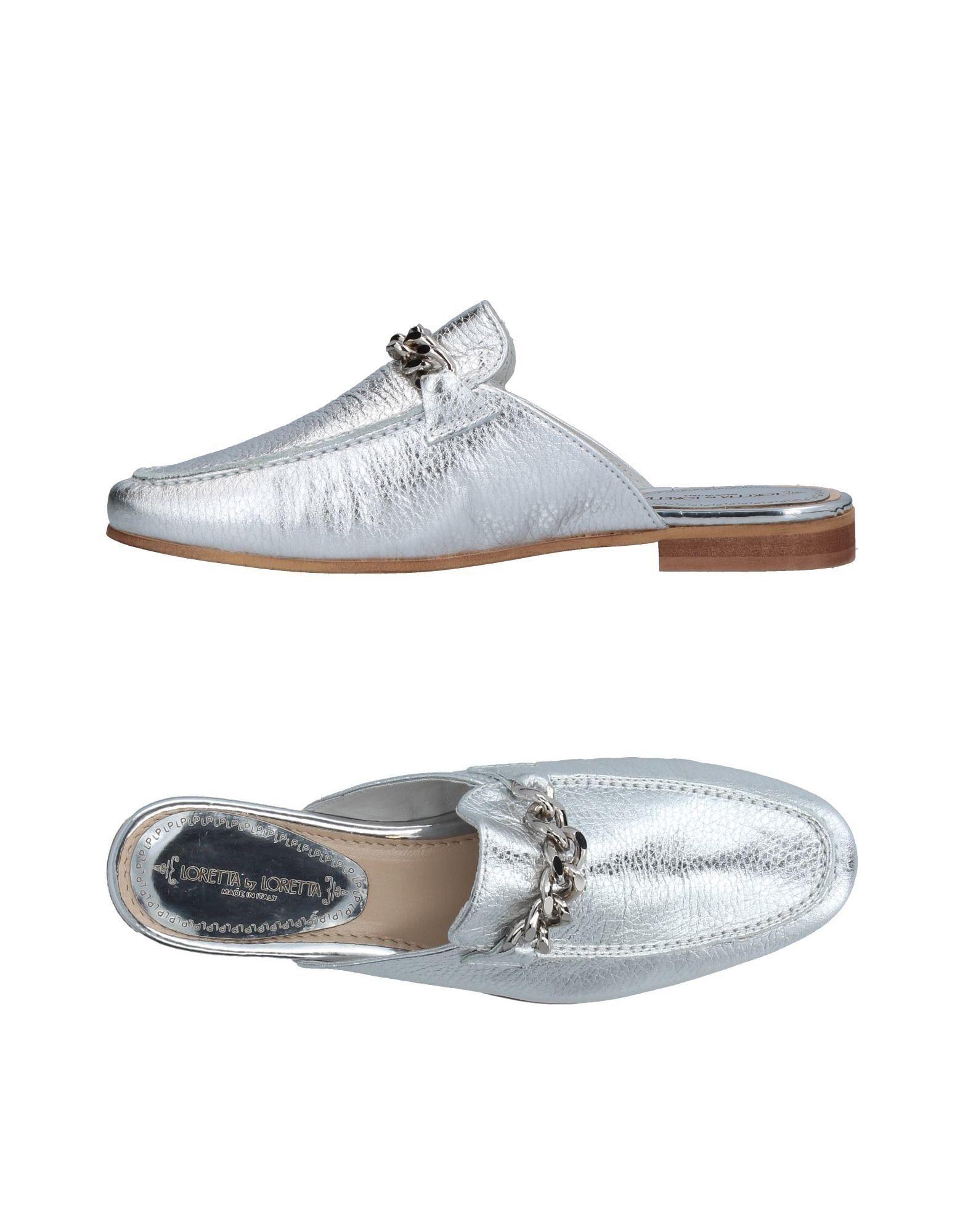 Loretta By Loretta Pantoletten Damen  11373996ED Gute Qualität beliebte Schuhe