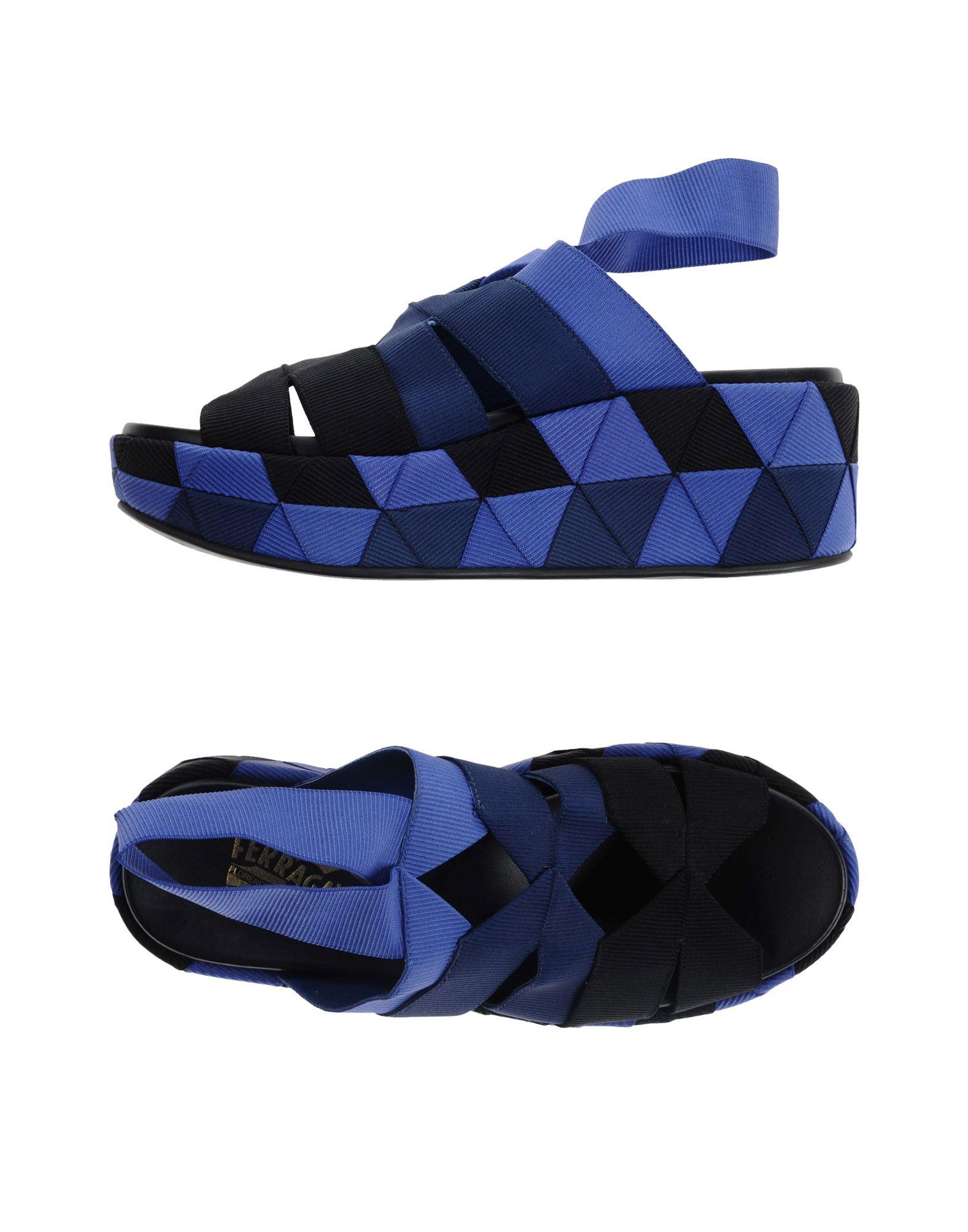 Stilvolle billige Schuhe Salvatore Ferragamo Sandalen Damen  11374458AU