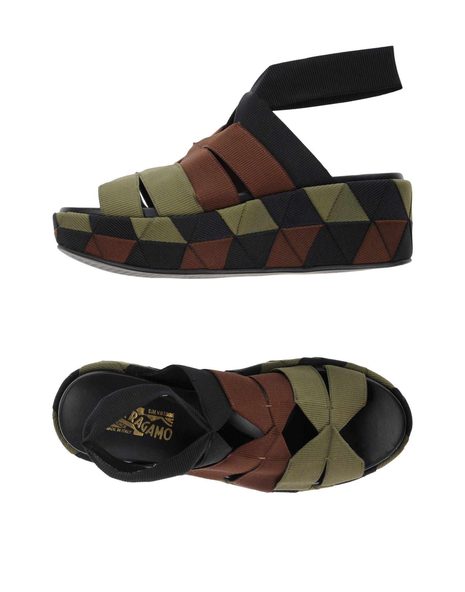 Salvatore Ferragamo Sandalen Damen  11374458DO Beliebte Schuhe