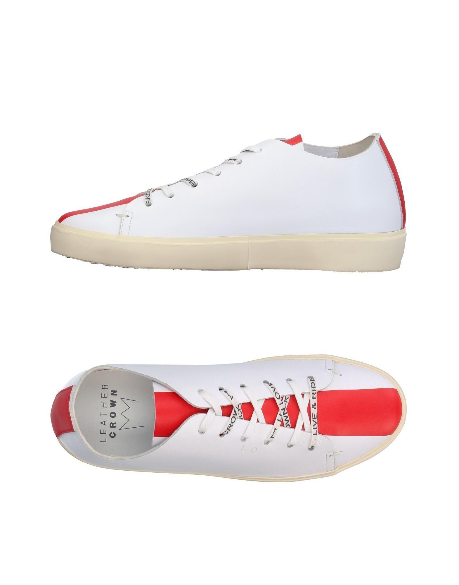 Leather Crown Sneakers Damen  11374539VL Gute Qualität beliebte Schuhe