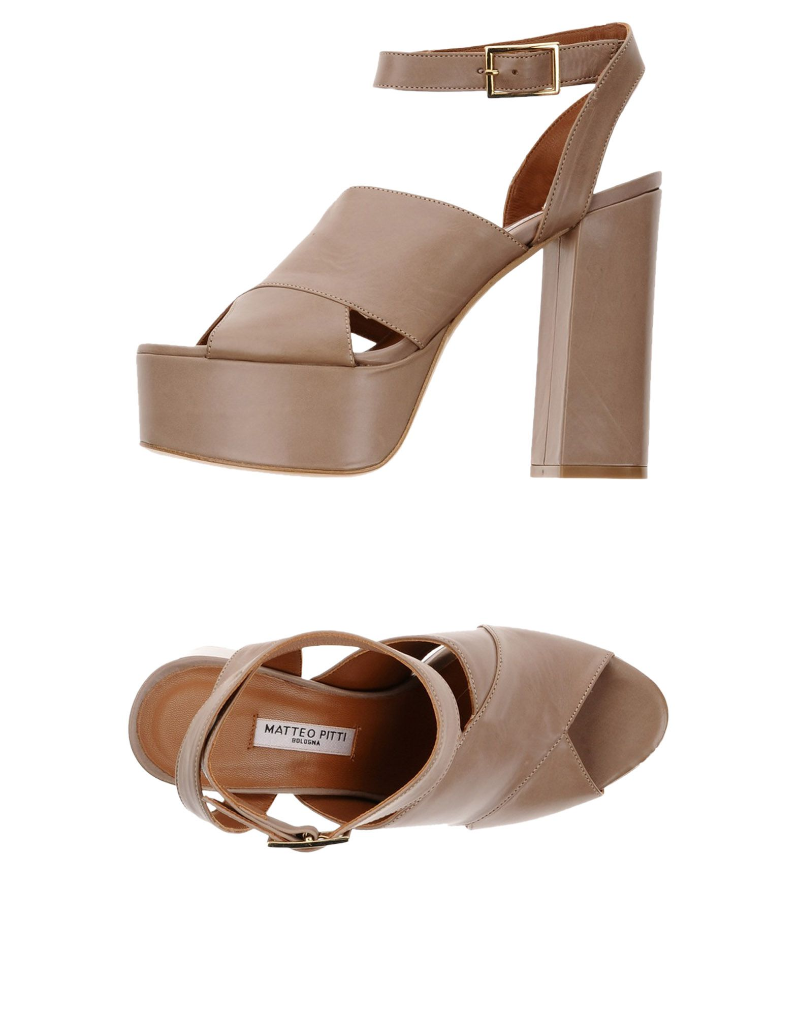 Matteo Pitti Bologna Sandalen Damen Damen Damen  11374552WV Neue Schuhe 719498