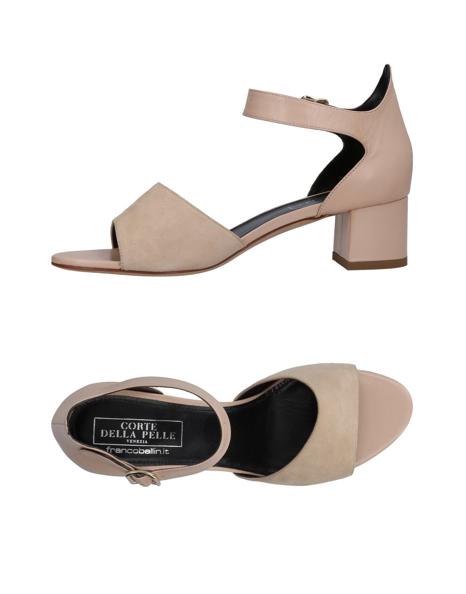 Stilvolle billige Schuhe La Corte Della Pelle By Franco Ballin Sandalen Damen  11374723LT