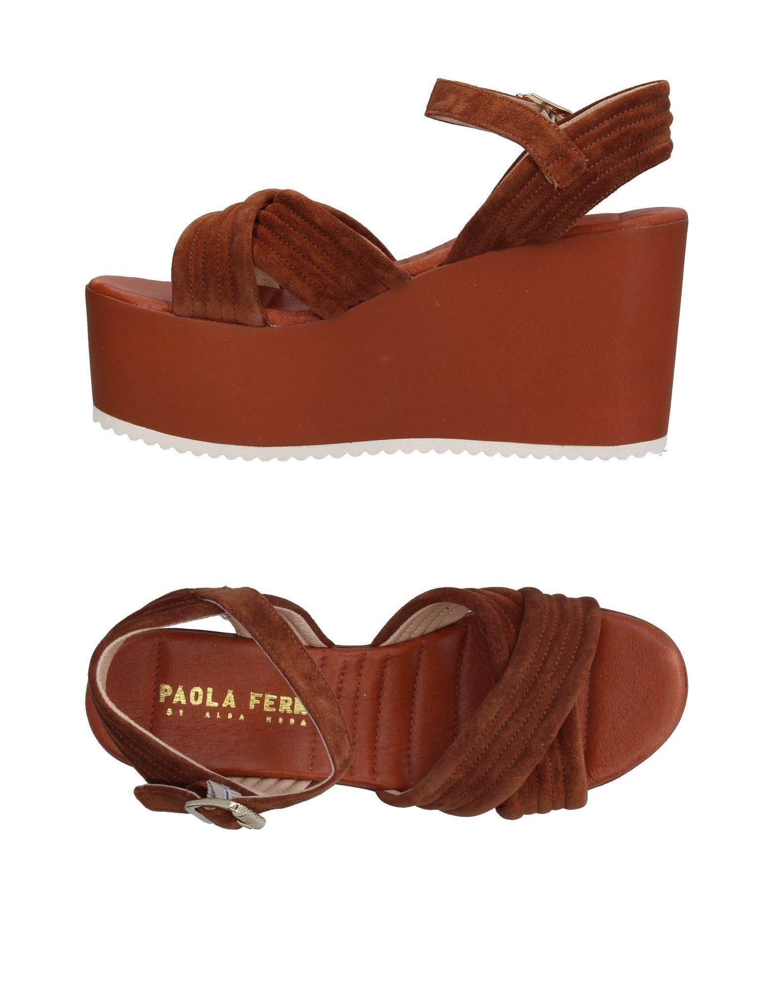 Paola Ferri Sandalen Damen  11374977RV Gute Qualität beliebte Schuhe