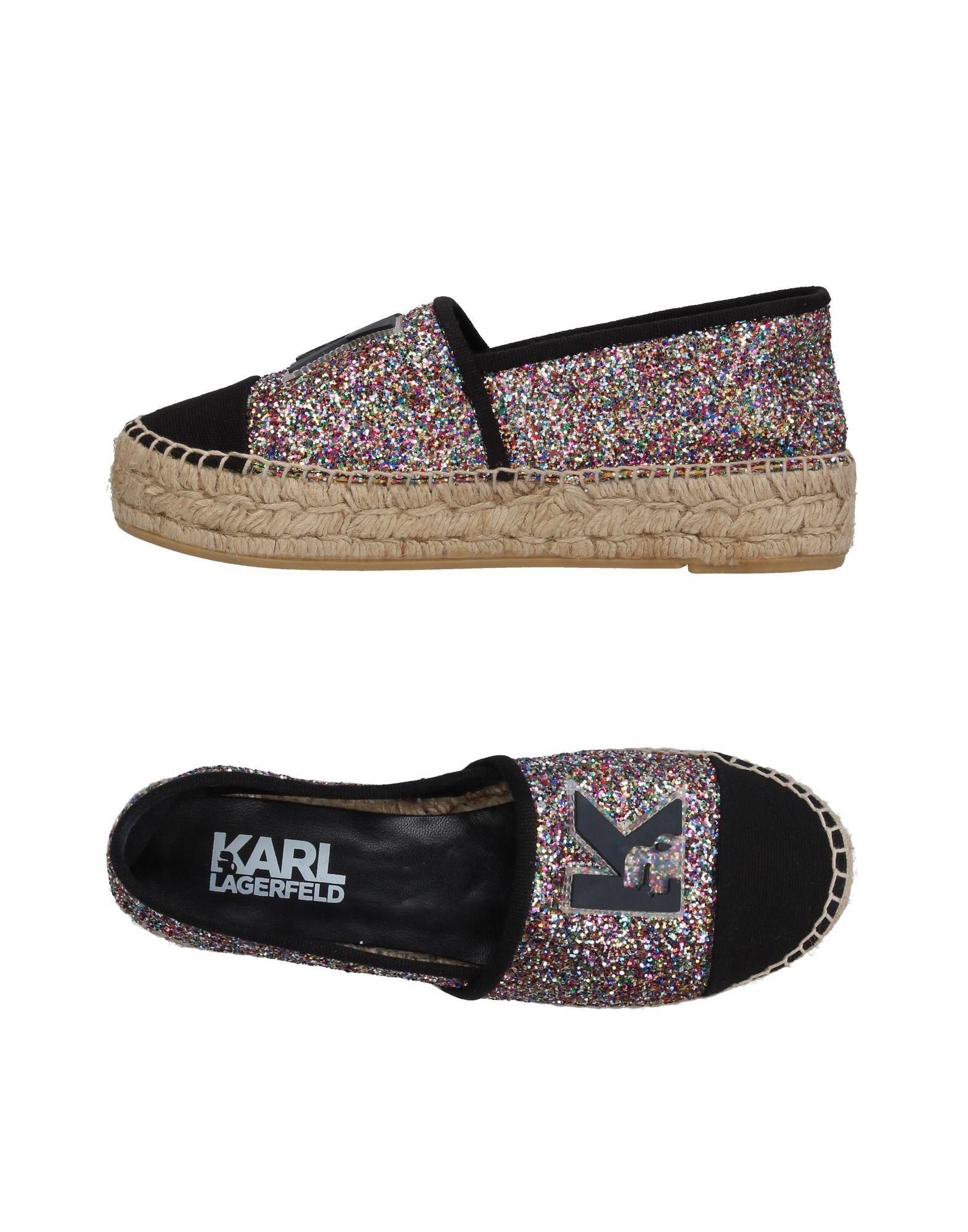 Karl Lagerfeld Espadrilles Damen  11375565VV Gute Qualität beliebte Schuhe