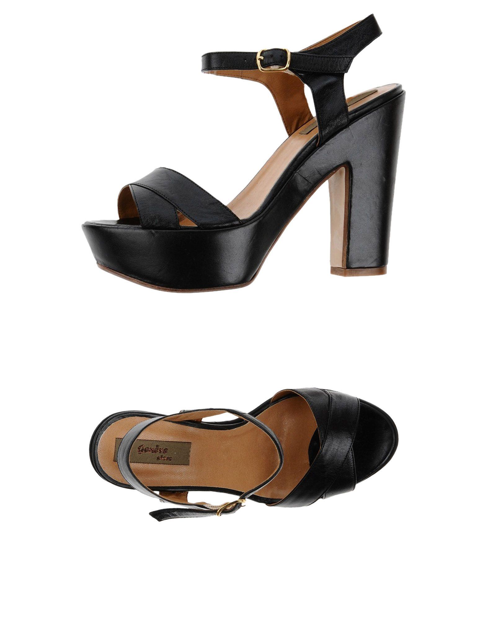Haltbare Mode billige Schuhe Geneve Sandalen Damen  11375592JL Heiße Schuhe