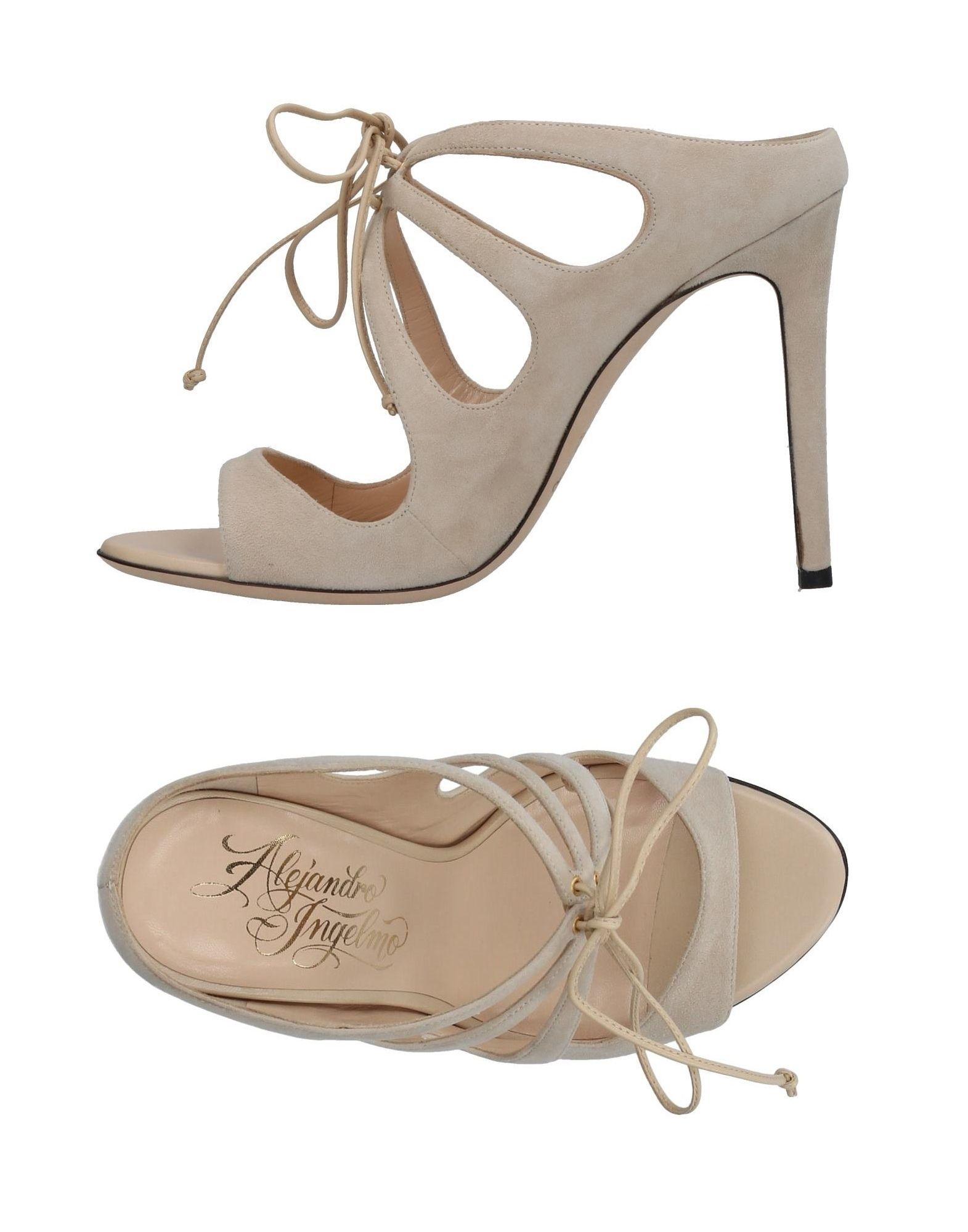 Stilvolle billige Schuhe Alejandro Ingelmo Sandalen Damen  11375717MI