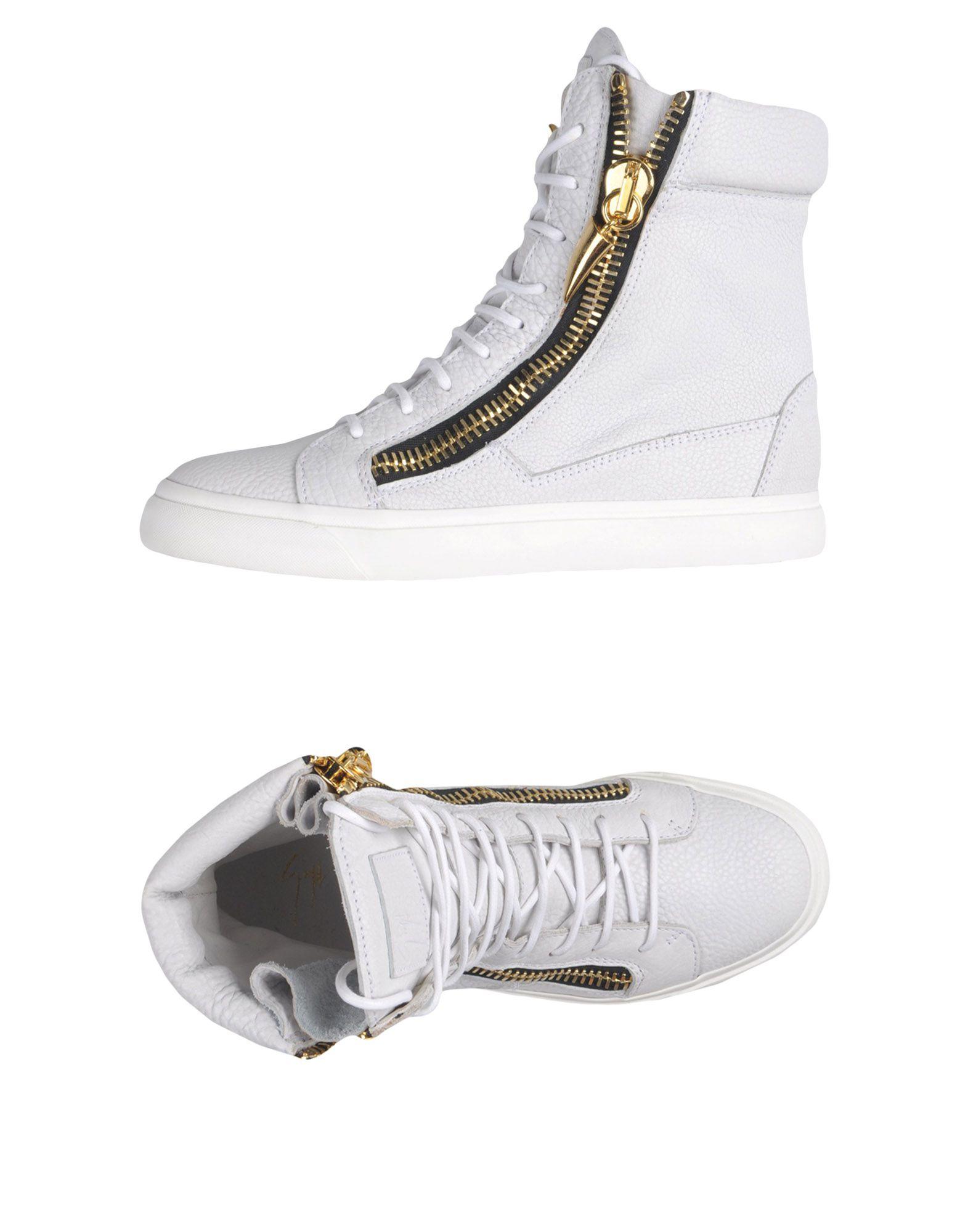 Zapatillas Giuseppe Blanco Zanotti Mujer - Zapatillas Giuseppe Zanotti  Blanco Giuseppe d39cac