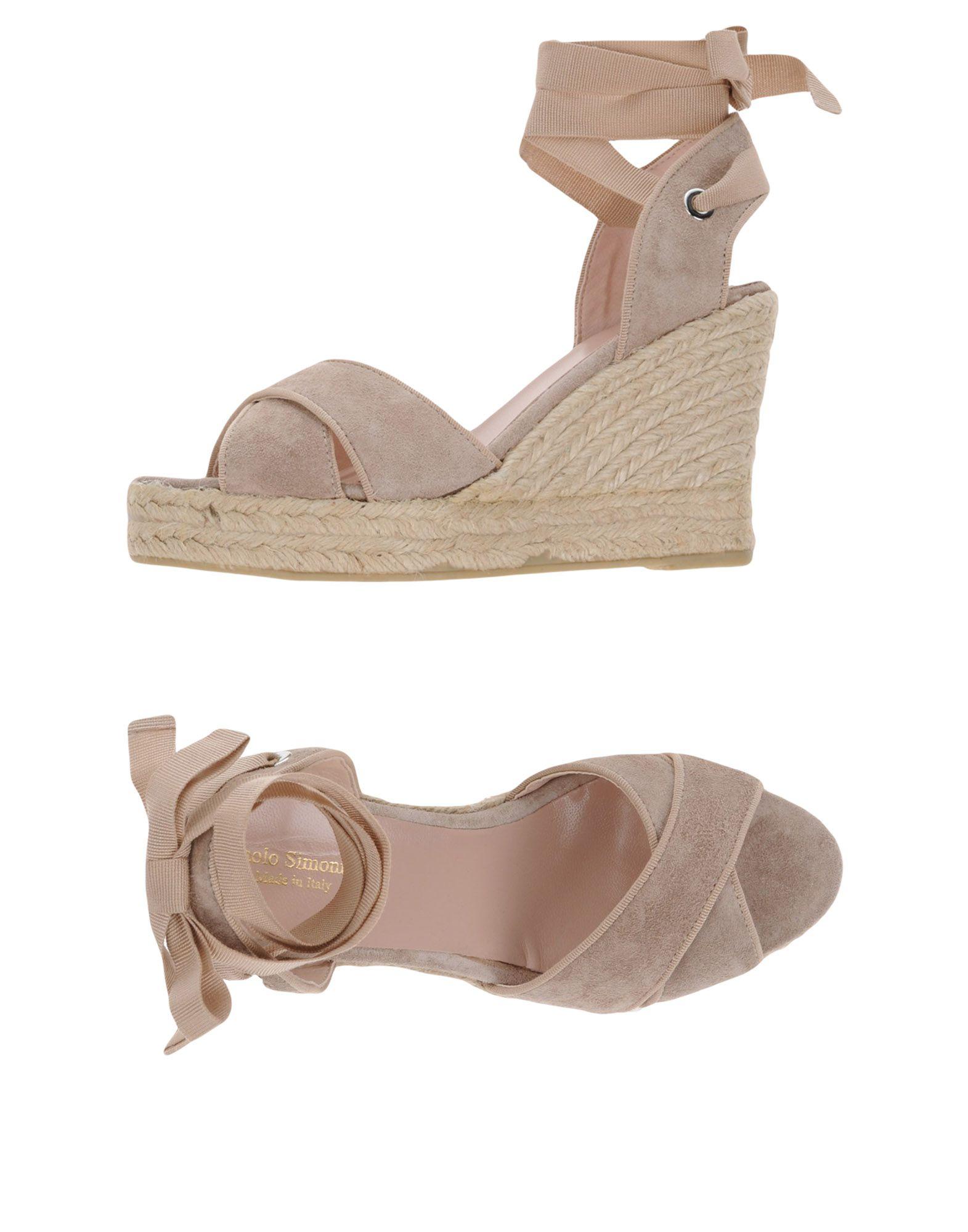 Gut um billige Schuhe zu tragenPaolo Simonini Espadrilles Damen  11376021RS