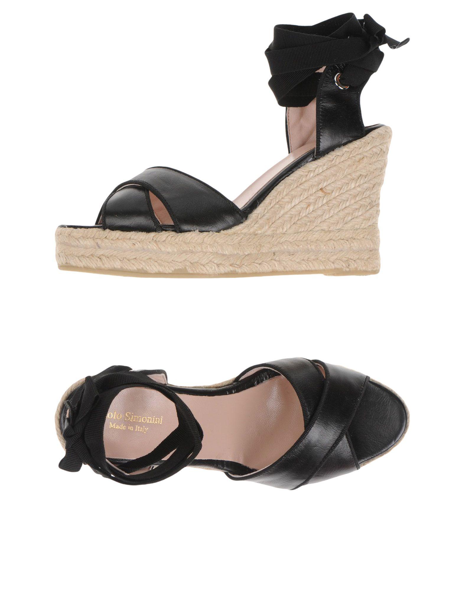 Paolo Simonini Sandalen Qualität Damen  11376050IO Gute Qualität Sandalen beliebte Schuhe adae76