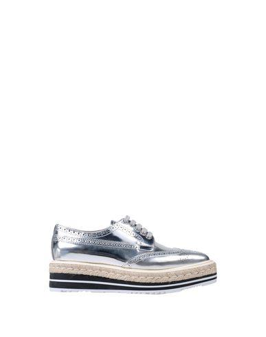 Lacets Argent Argent Lacets Chaussures À Lacets Prada Prada À Chaussures Argent Chaussures Prada Chaussures Prada À BX8wqx8