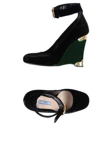 Cómodo y bien parecido Mujer Zapato De Salón Prada Mujer parecido - Salones Prada - 11376926IM Negro 69721a