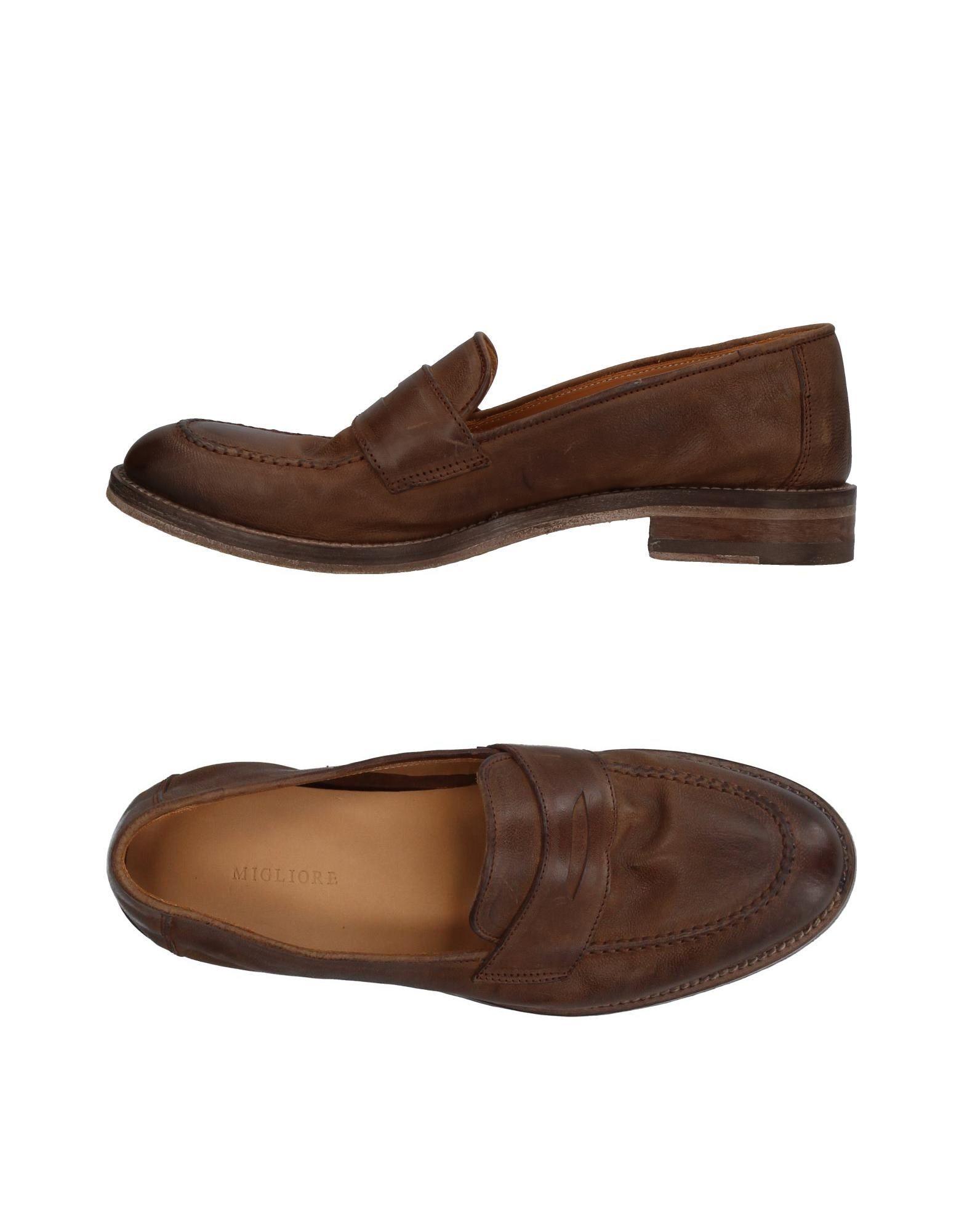 Günstige und modische Schuhe Migliore Mokassins Damen  11377024ID
