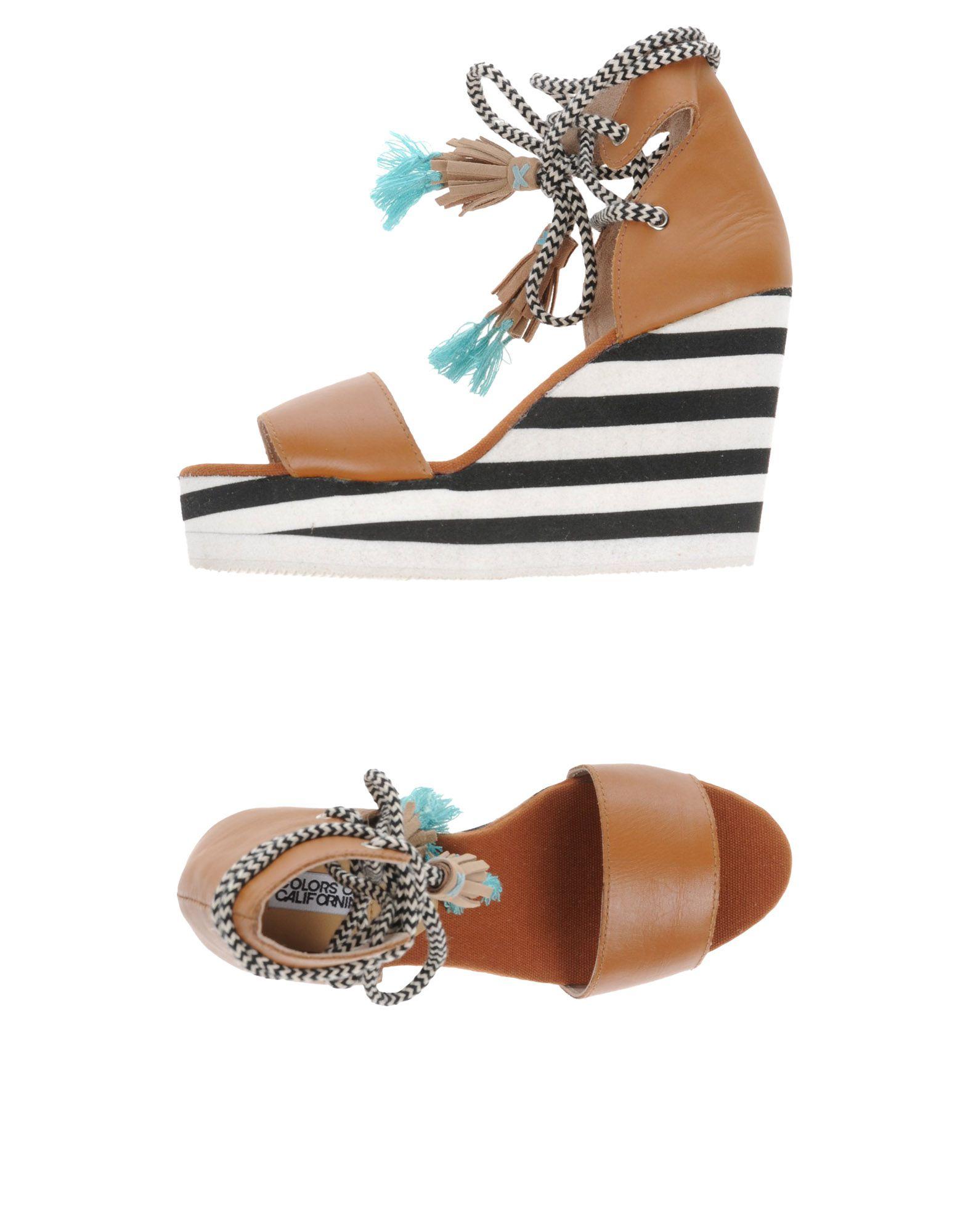 Sandales Colors Of California Femme - Sandales Colors Of California sur