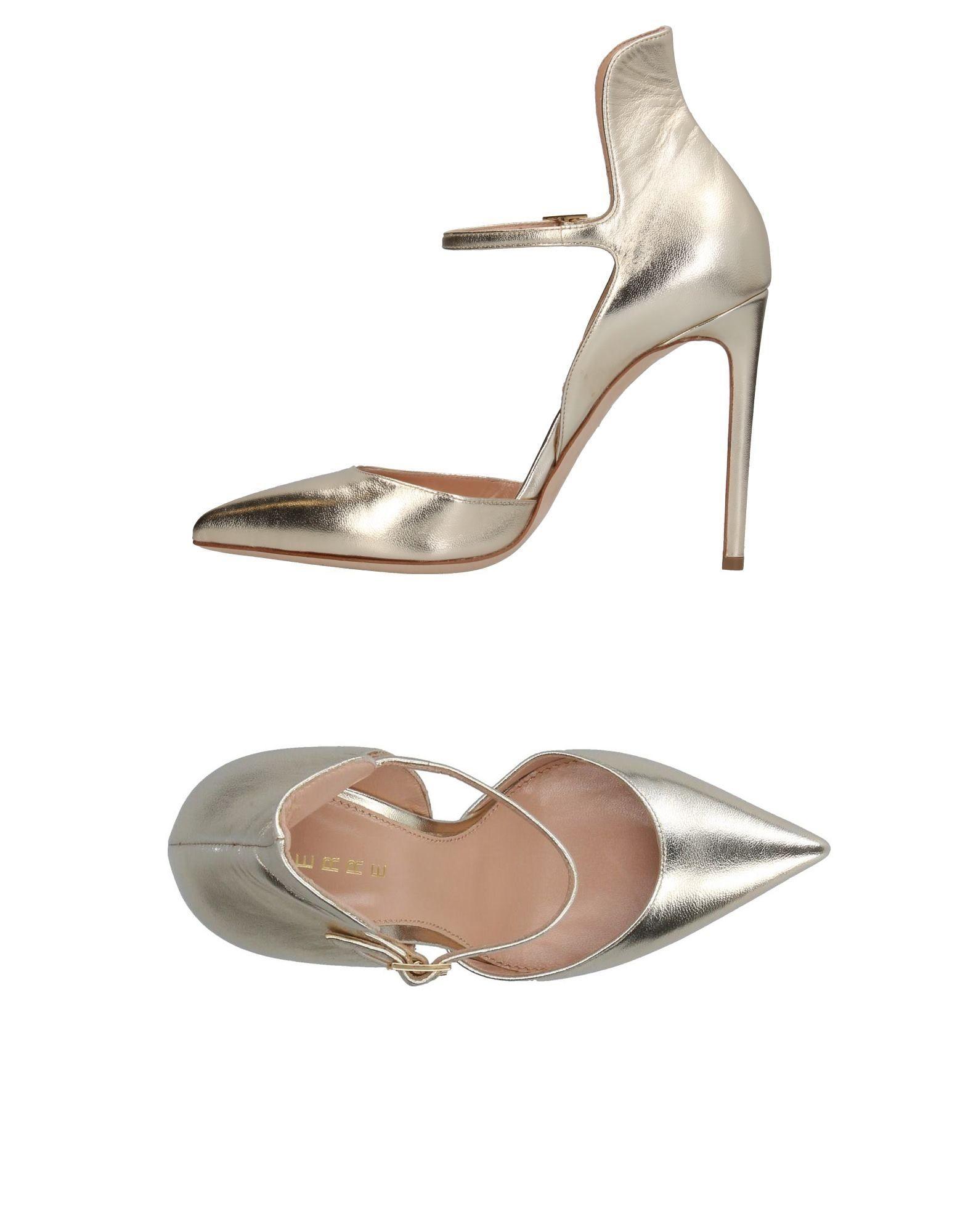 Stilvolle Damen billige Schuhe Lerre Pumps Damen Stilvolle  11377274MW c94e8d