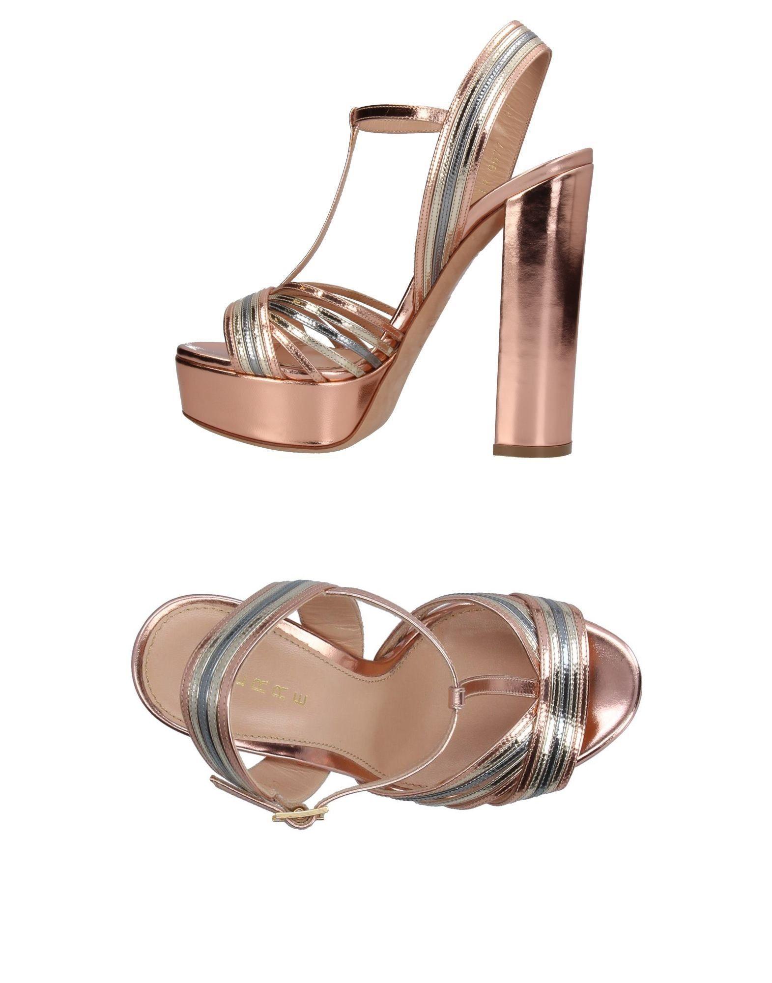 Haltbare Mode billige Schuhe Lerre Sandalen Damen  11377405FX Heiße Schuhe