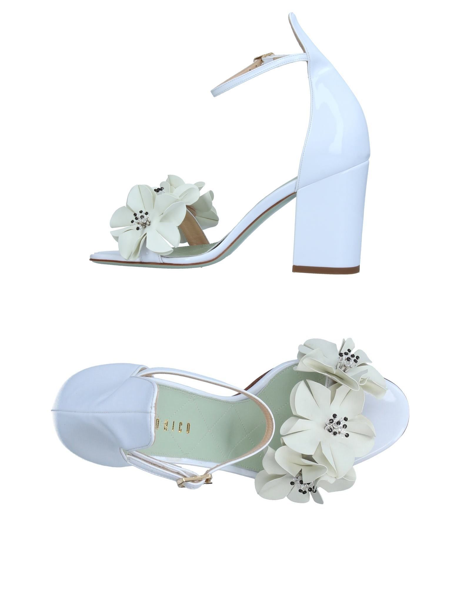 Stilvolle billige Schuhe Giannico Sandalen Damen  11377572MT