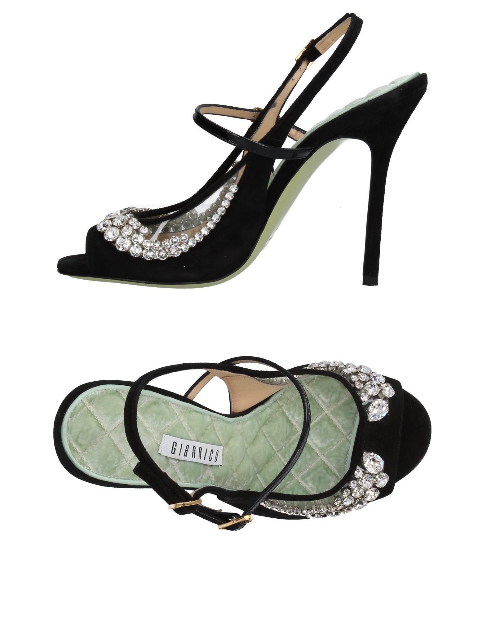 Haltbare Mode billige Schuhe Giannico Sandalen Damen  11377666GT Heiße Schuhe