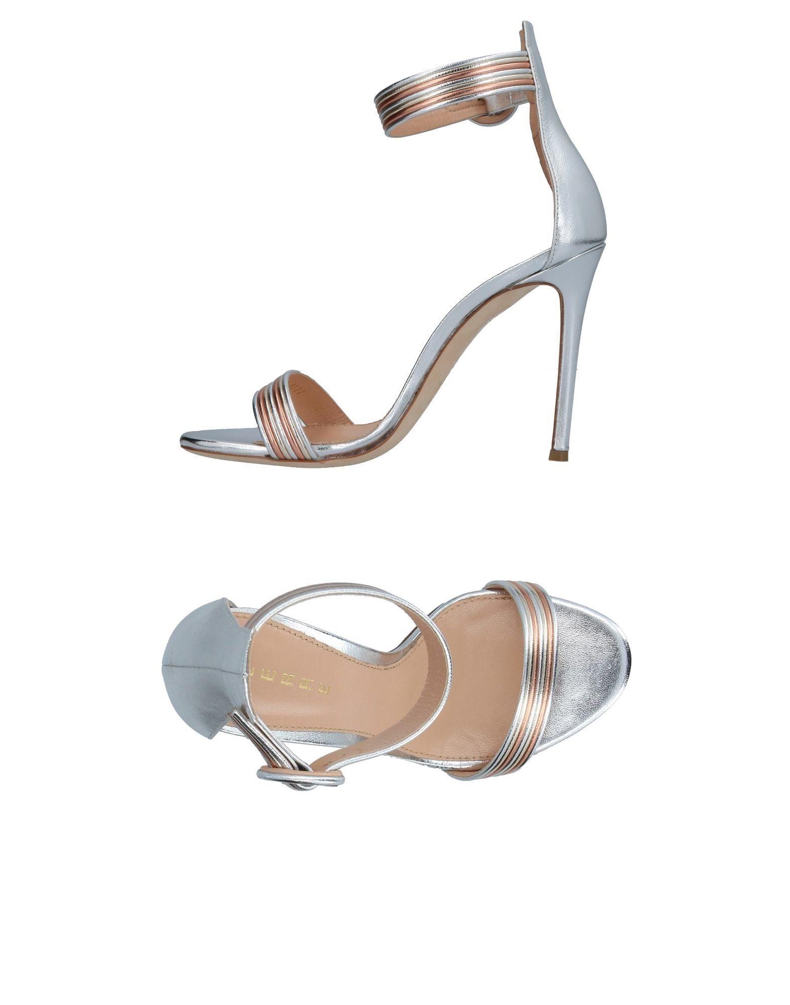 Stilvolle billige Schuhe Lerre Sandalen Damen  11377679LR