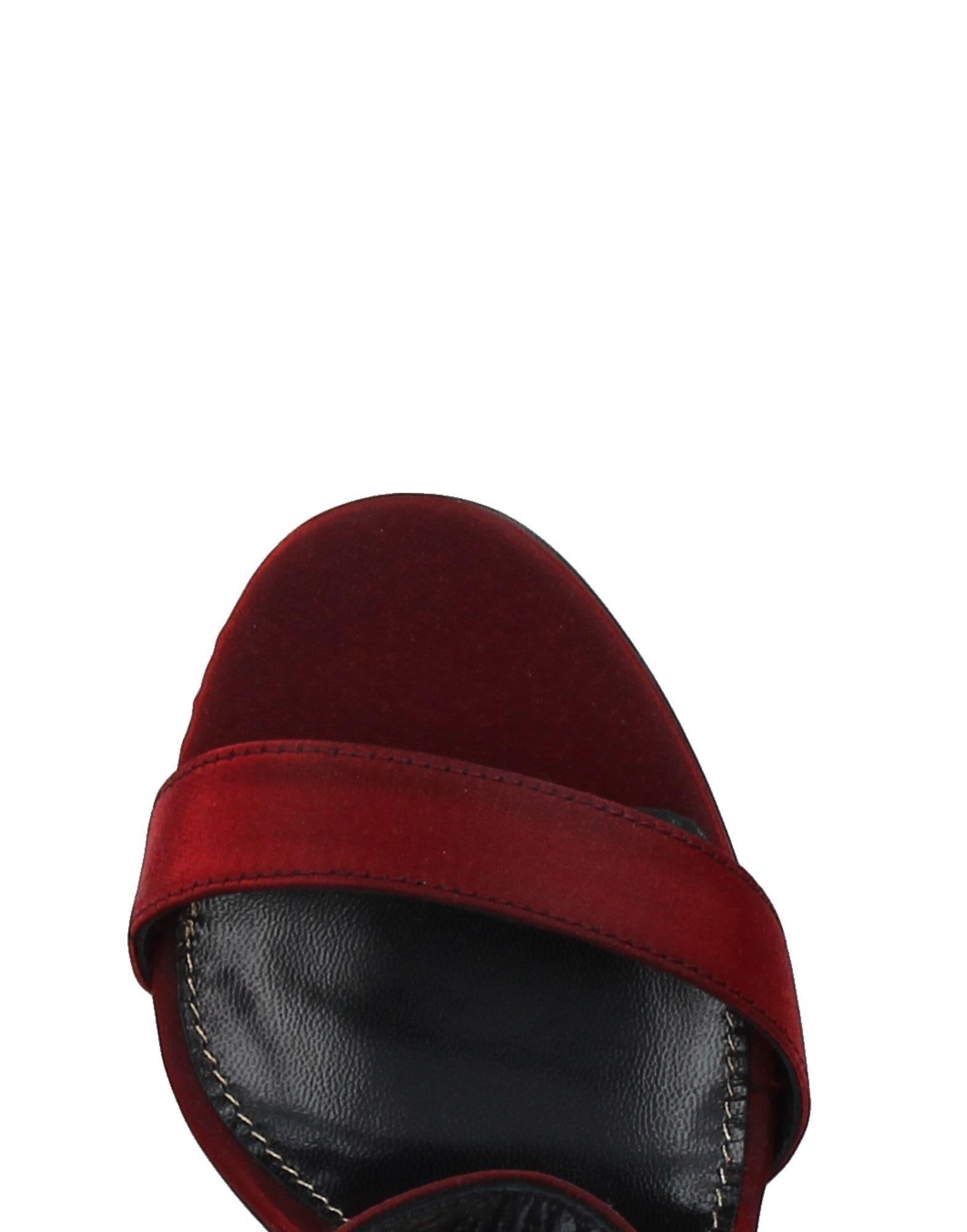 Stilvolle billige Schuhe Lerre Sandalen Damen  11377706OT