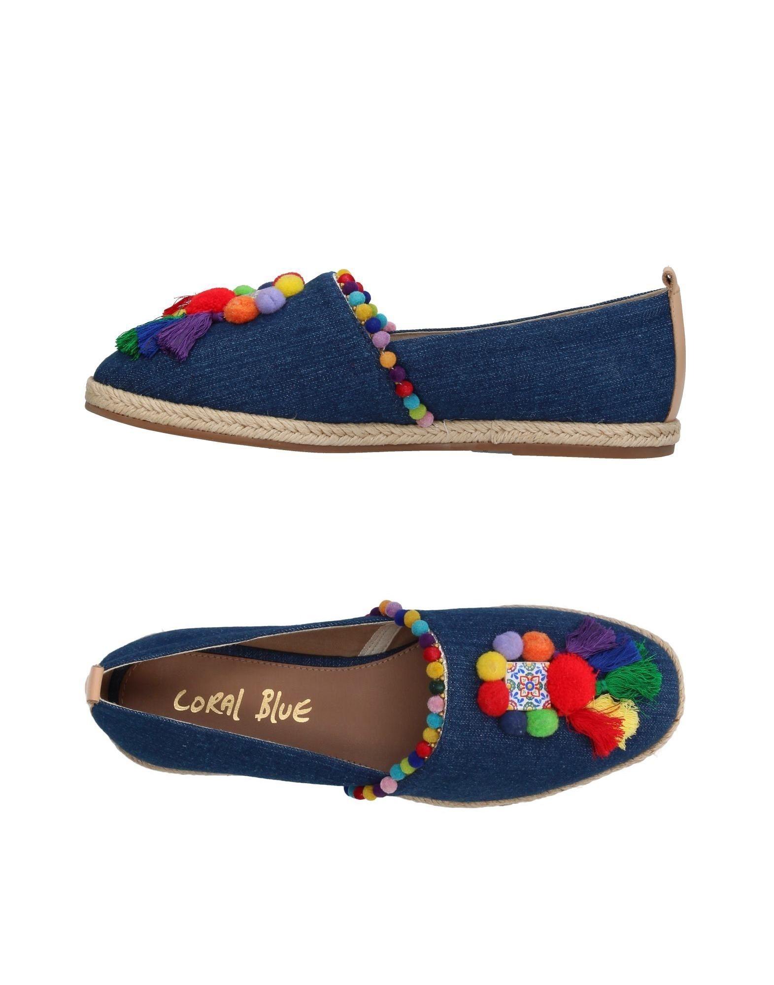 Espadrilles Coral Blue Femme - Espadrilles Coral Blue sur
