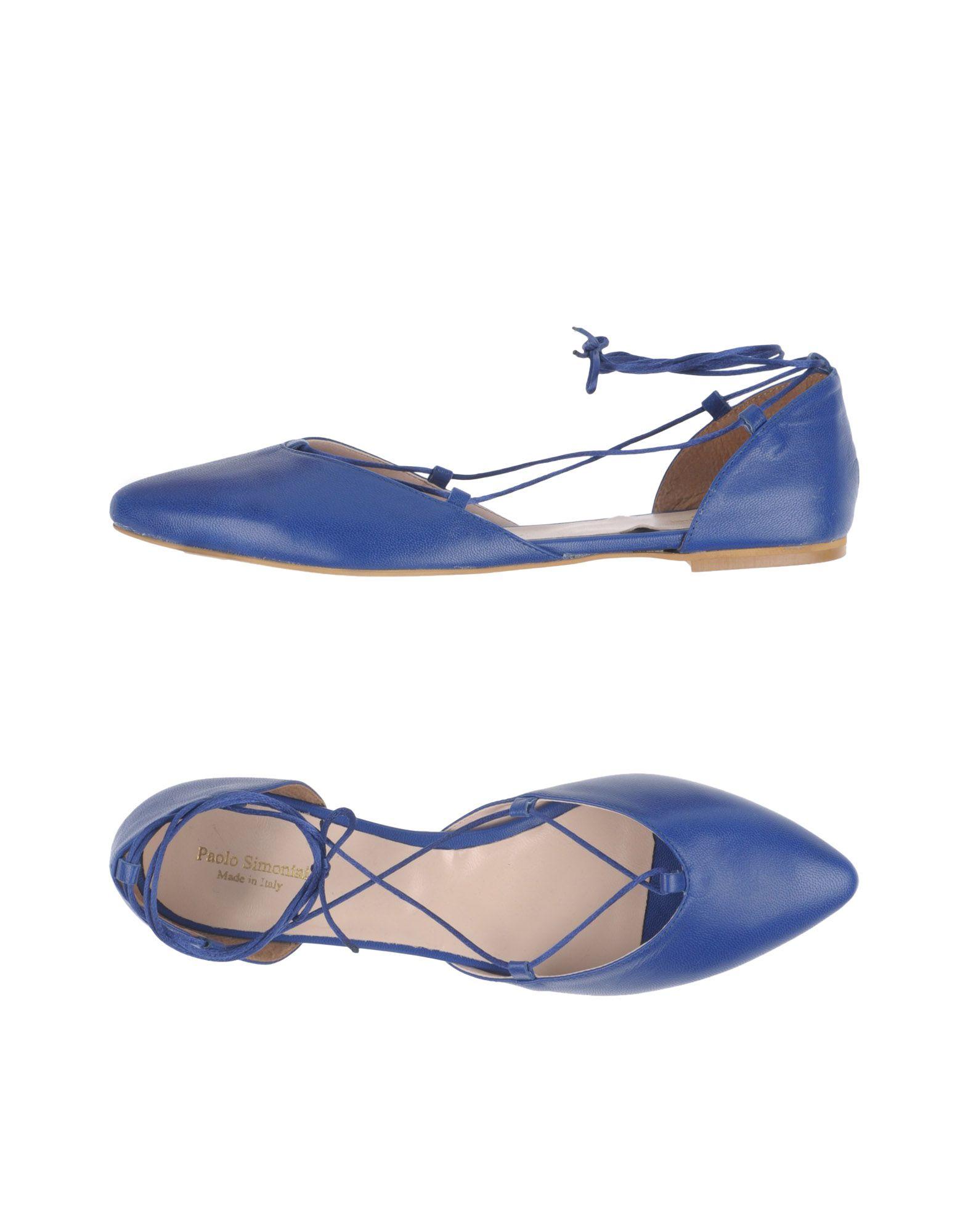 Gut um billige Schuhe zu tragenPaolo Simonini Ballerinas Damen  11377822RG
