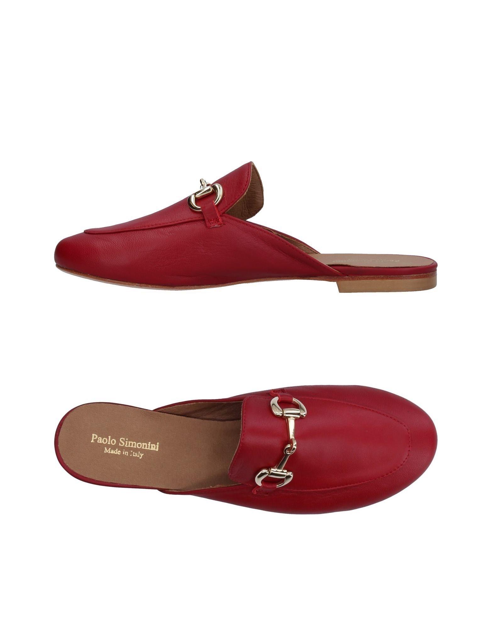 Stilvolle billige Schuhe Paolo Simonini Pantoletten Damen  11377864OB