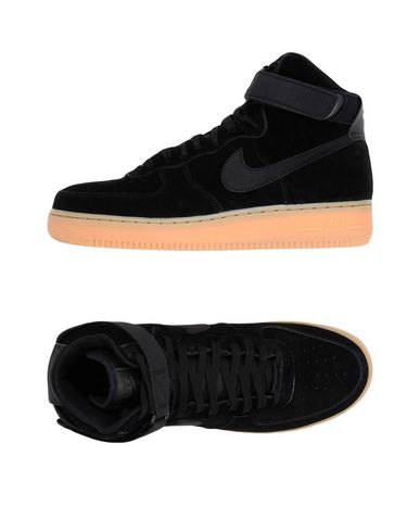 Nike Air Force 1 suede high top sneakers