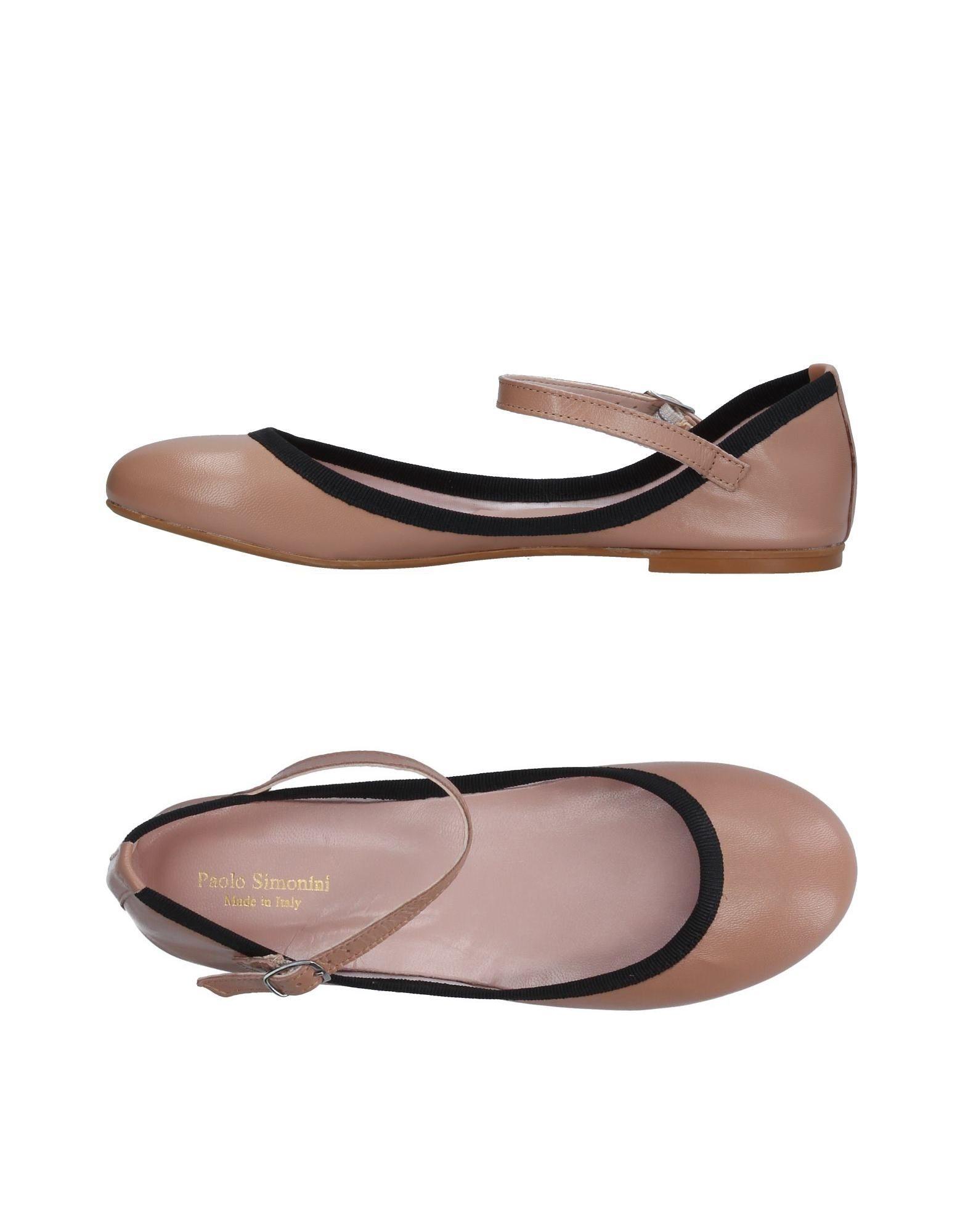 Paolo Simonini Ballerinas Damen  11378061AB Gute Qualität beliebte Schuhe