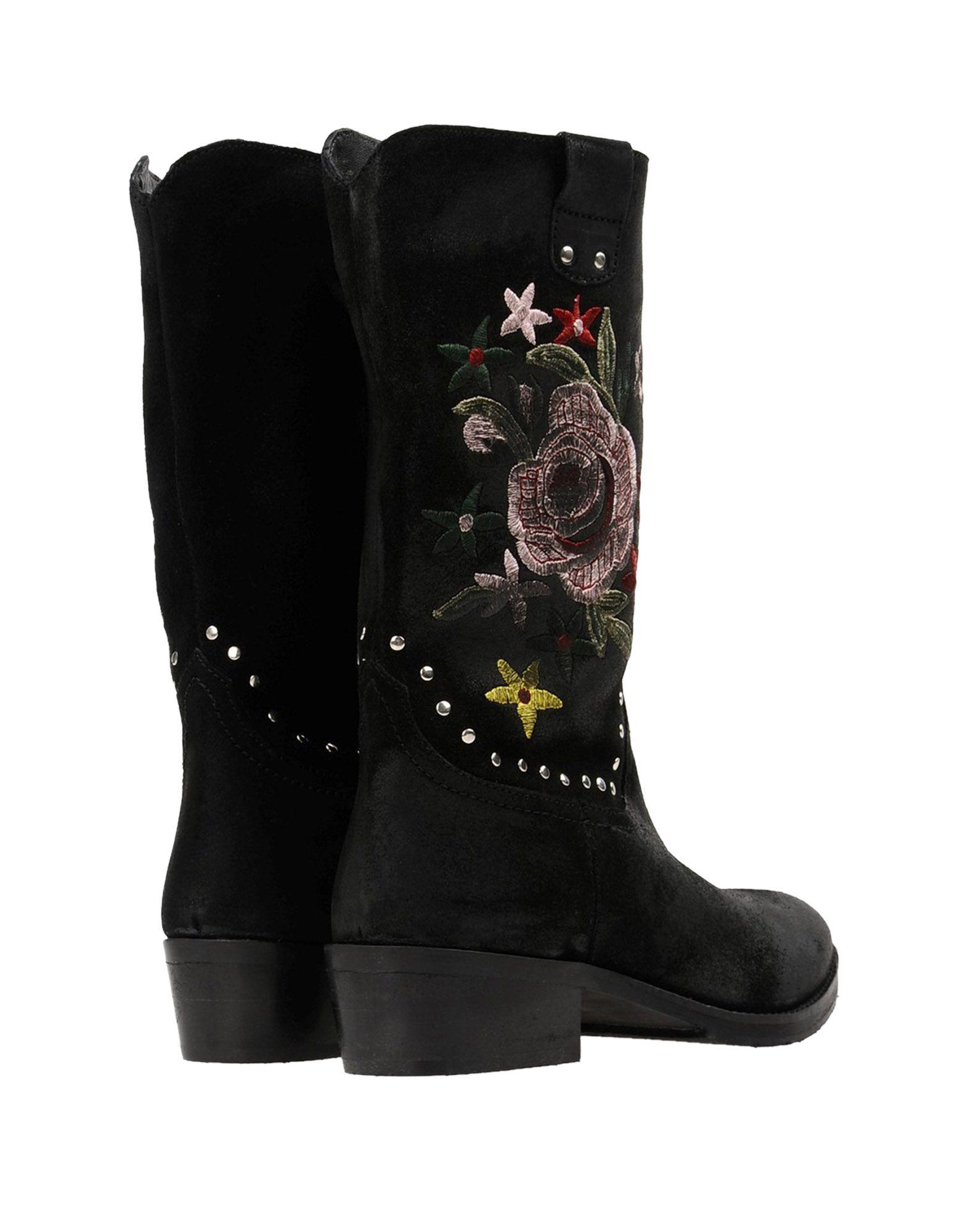 Stilvolle billige Schuhe Gei Gei Stiefel Damen  11379165JU