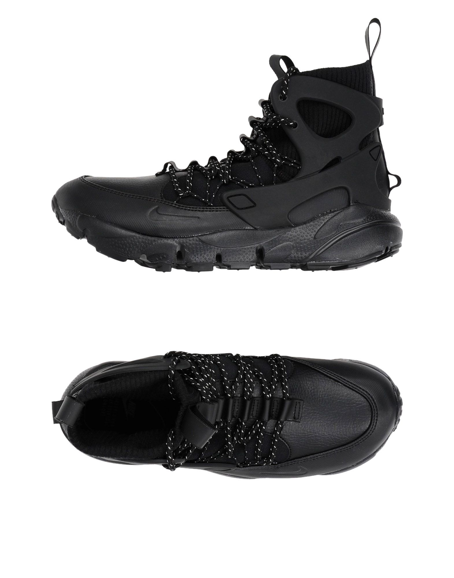 Baskets Nike Air Footscape Mid - Femme - Baskets Nike Noir Meilleur modèle de vente