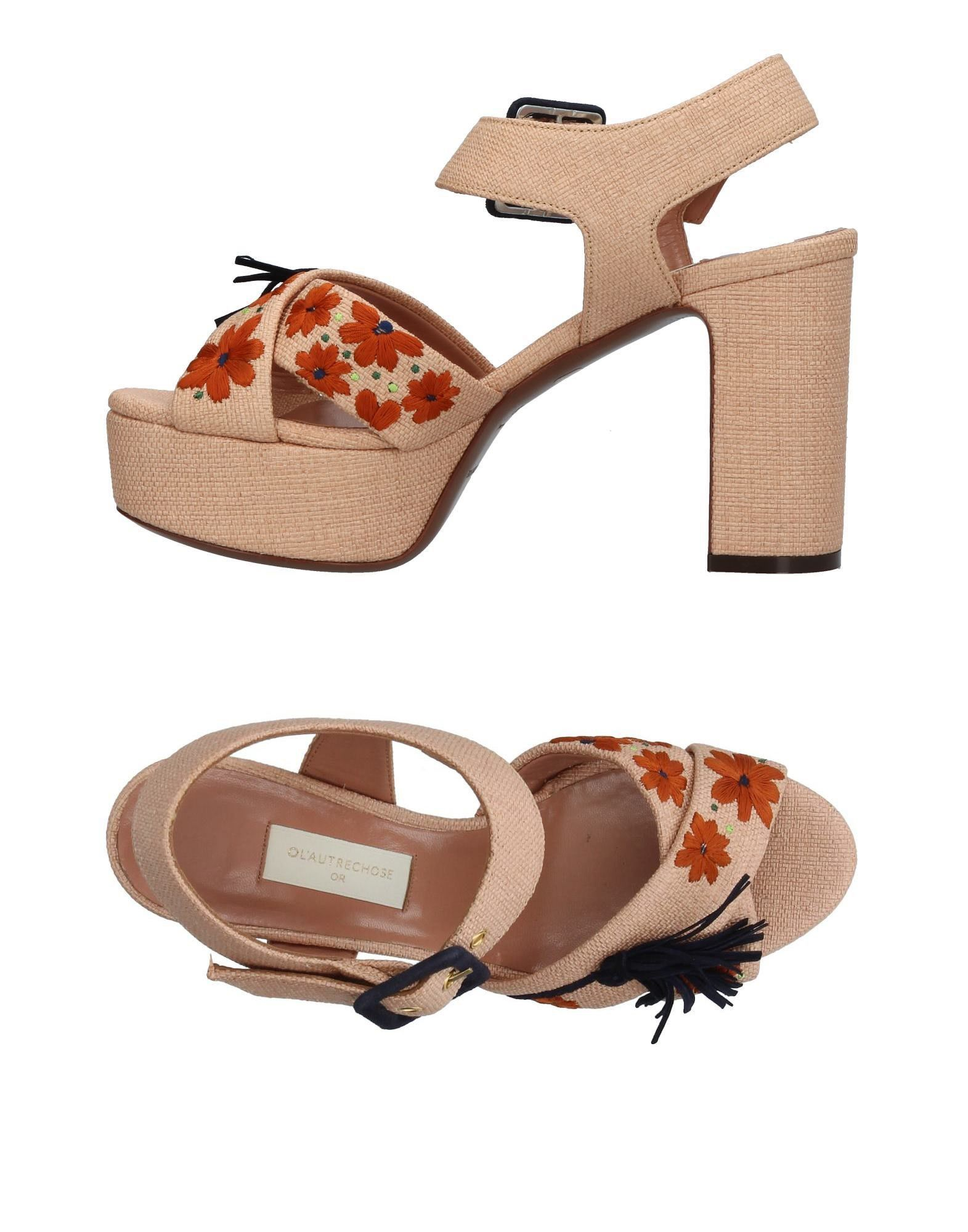 Stilvolle billige Schuhe L' Autre Chose Sandalen Damen  11379669HJ
