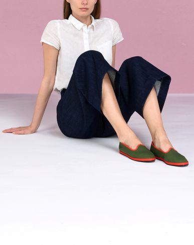Vibi Yoox Mocassino Mocassini Verde X Donna Venezia Scarpe