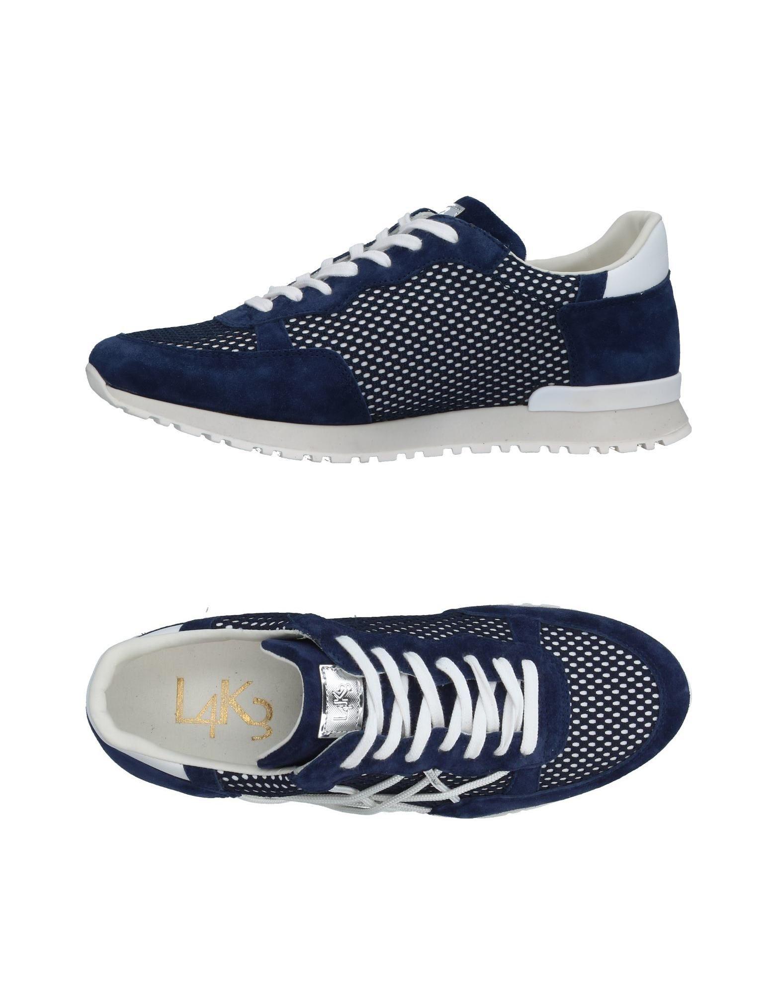Sneakers L4k3 Homme - Sneakers L4k3  Bleu électrique Chaussures femme pas cher homme et femme