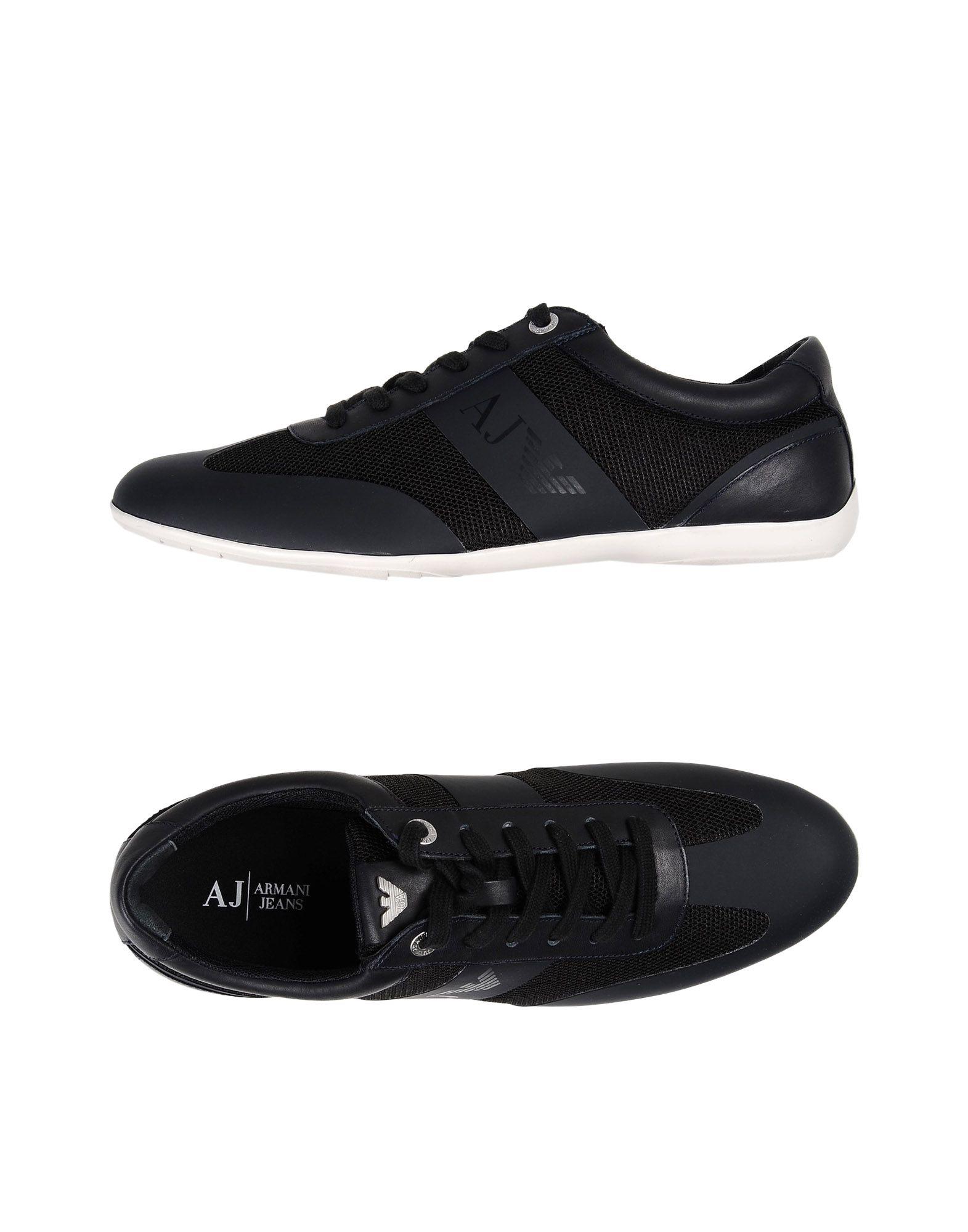 Rabatt echte Schuhe Armani Jeans Sneakers Herren  11380087IM