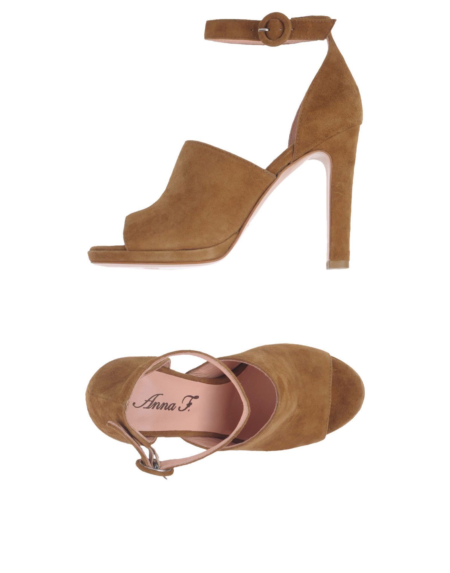 Anna F. Sandalen Damen  11380230OQ Gute Qualität beliebte Schuhe